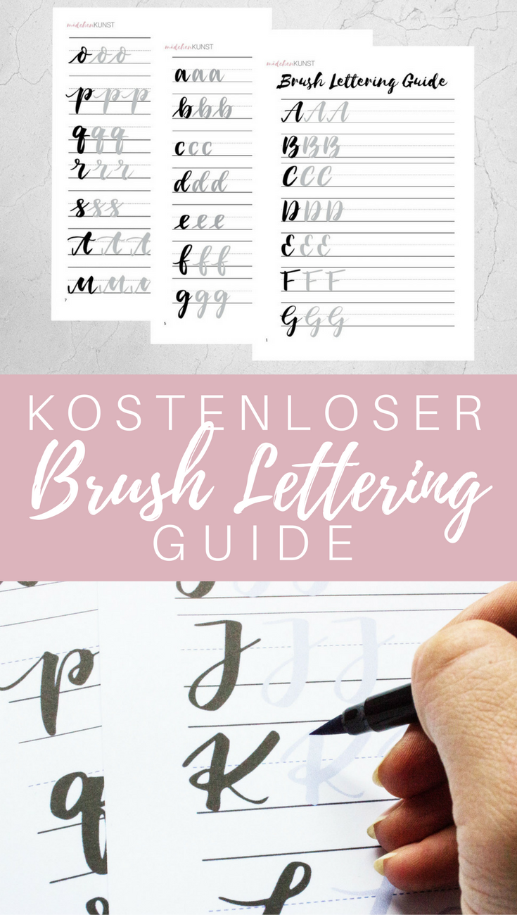 Free Brush Lettering Guide Girl Art Free Brush Lettering Guide I Strongly Assume That You Will Brush Brushing On Lettering Guide Lettering Brush Lettering