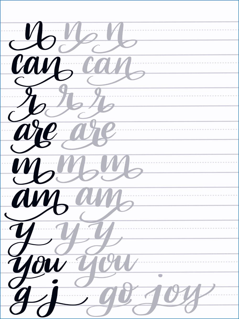 Pin Von Celine Jenne Auf Calligraphy Lettering Alphabet Buchstaben Pinselschrift