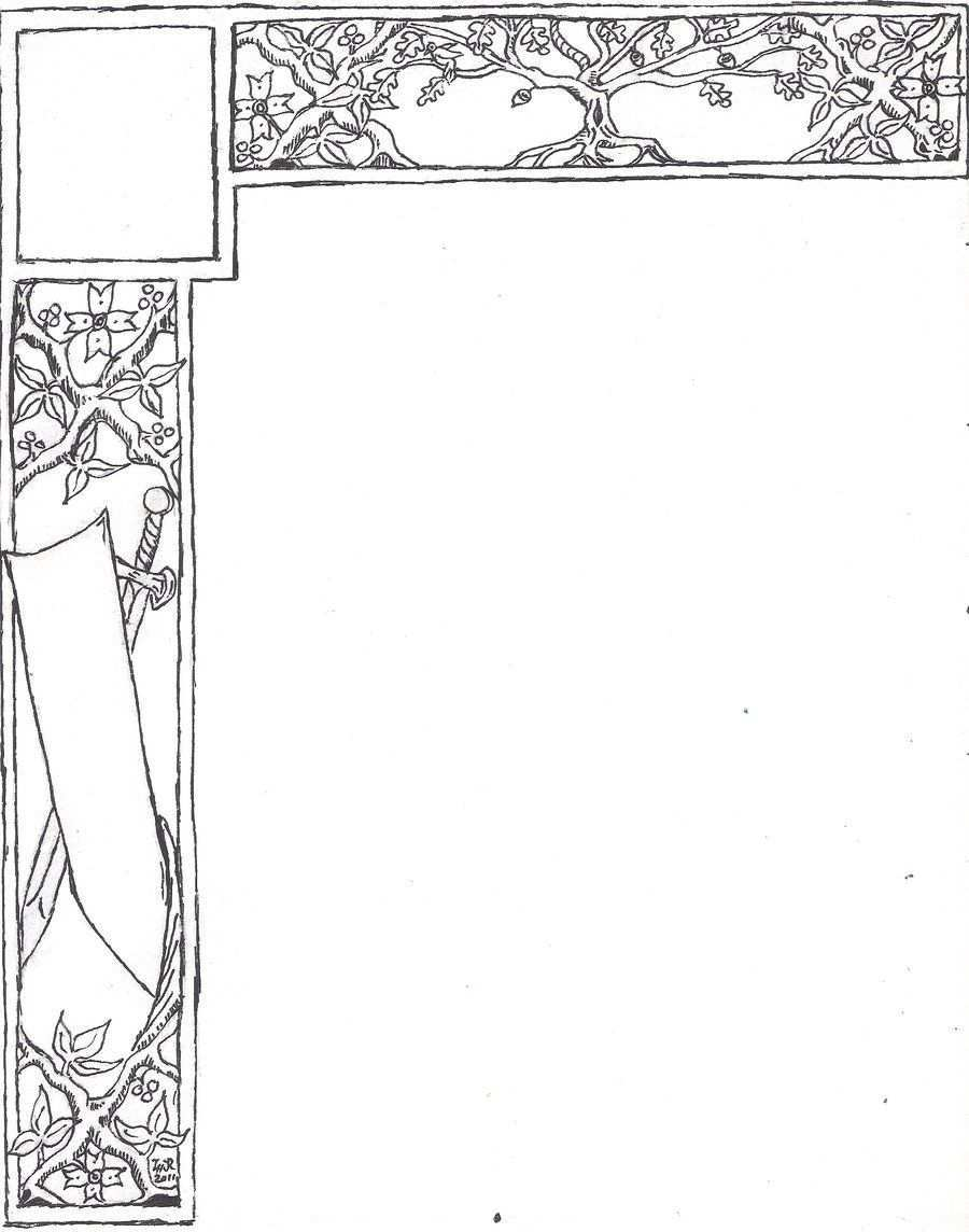 Sca Scroll Base By T Harris Deviantart Com On Deviantart Ornamentik Wenn Du Mal Buch Vorlagen
