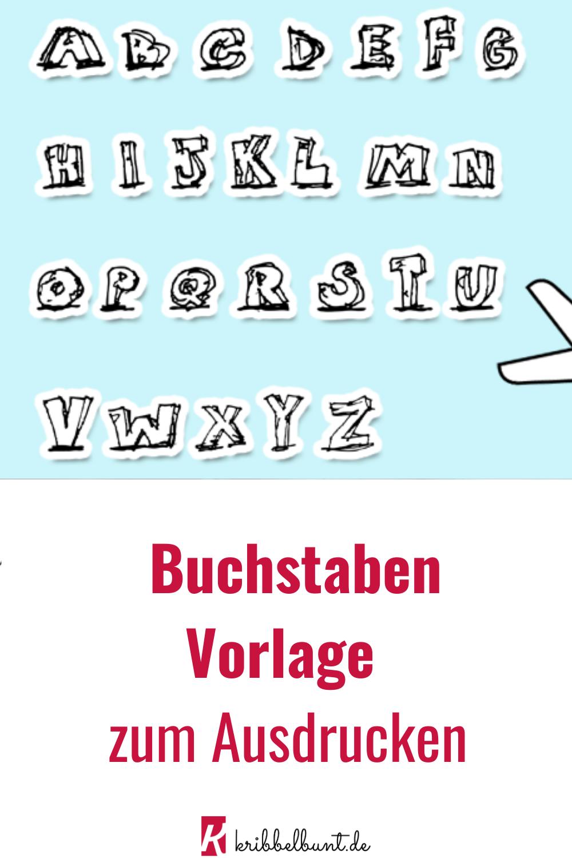 Buchstabenvorlagen Zum Ausdrucken Fur Kinder Buchstaben Vorlagen Buchstaben Vorlagen Zum Ausdrucken Abc Buchstaben