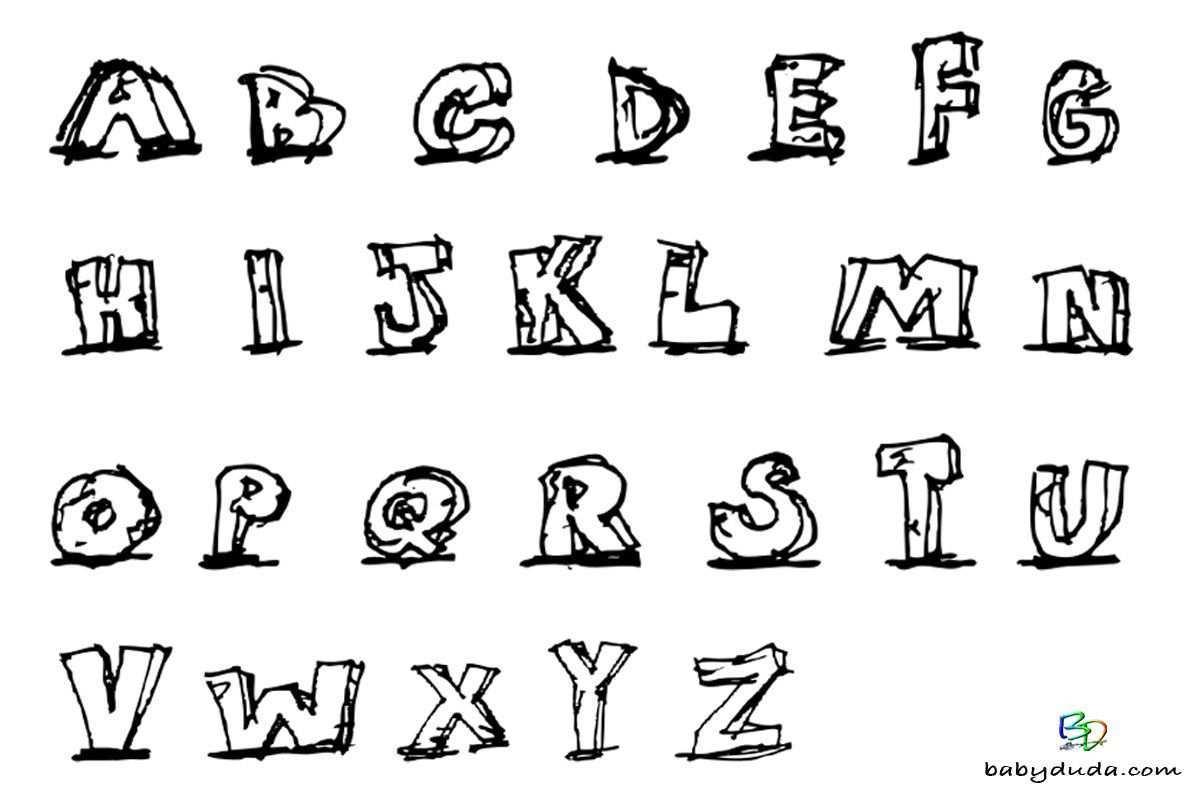Buchstaben Ausmalen Alphabet Malvorlagen A Z Babyduda Alphabet Malvorlagen Malvorlagen Vorlagen