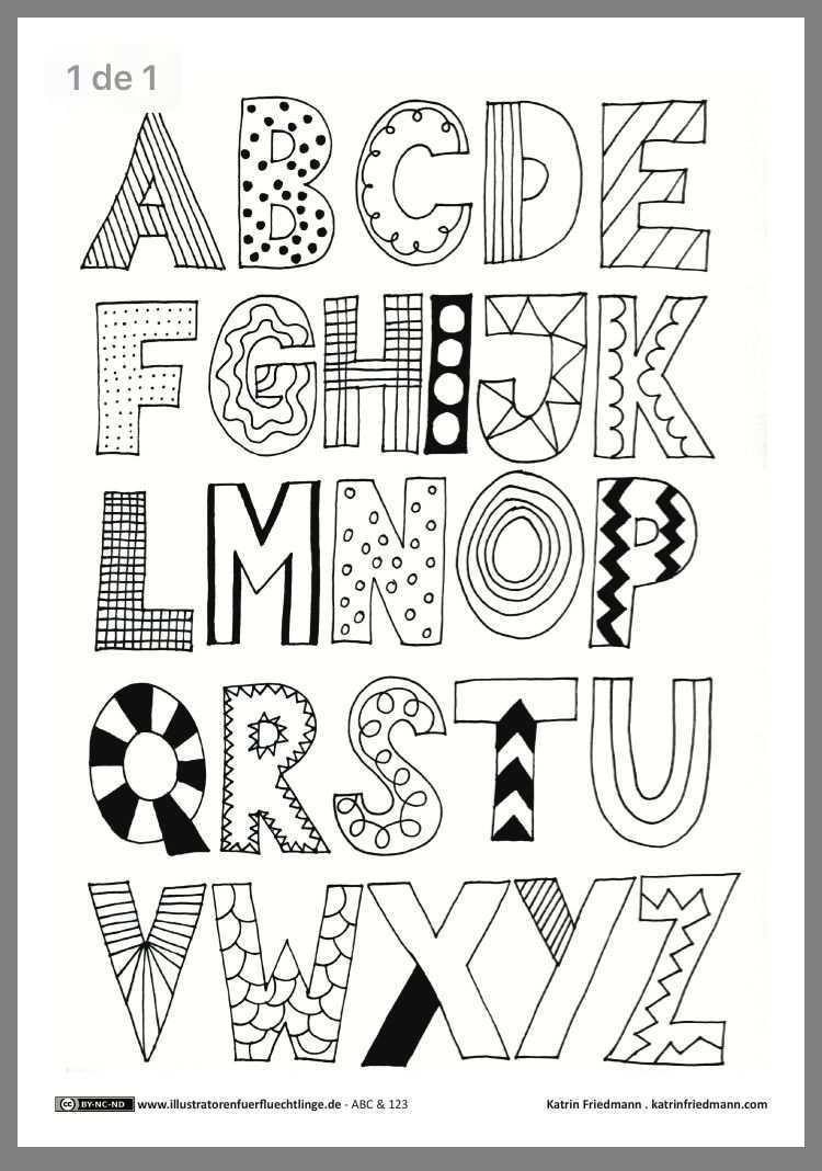 Pin Von Andreia Silva Auf Africa Kreativer Schriftzug Handschriftliche Schriften Gekritzel Alphabet