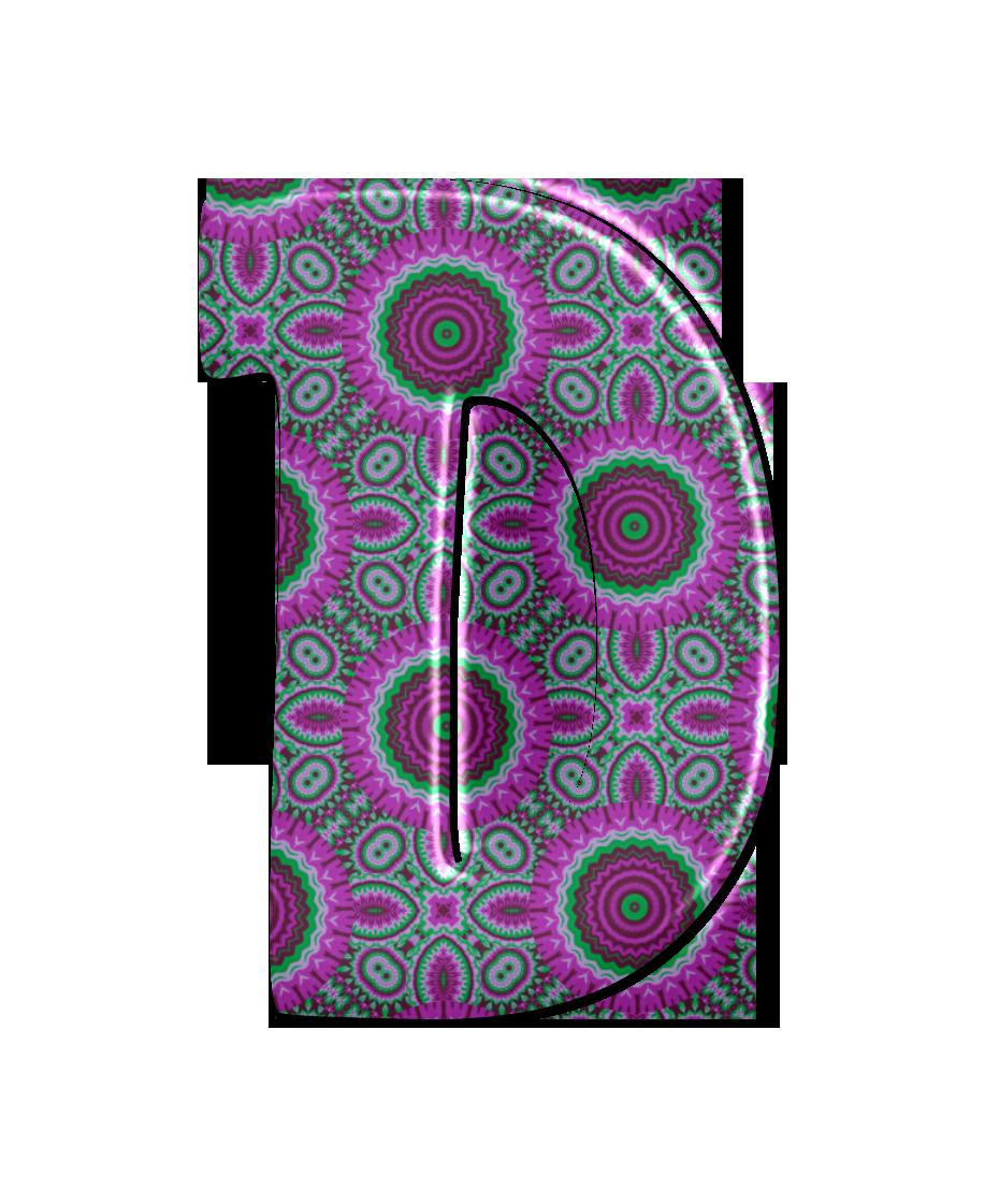 Buchstabe Letter D In 2020 Mandala Muster Spiralen Muster