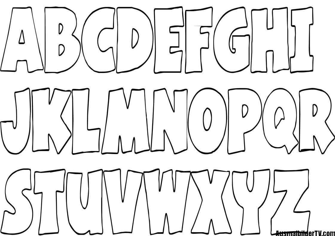 Abc Ausmalbilder 1ausmalbilder Com Buchstaben Vorlagen Zum Ausdrucken Alphabet Malvorlagen Buchstaben Vorlagen