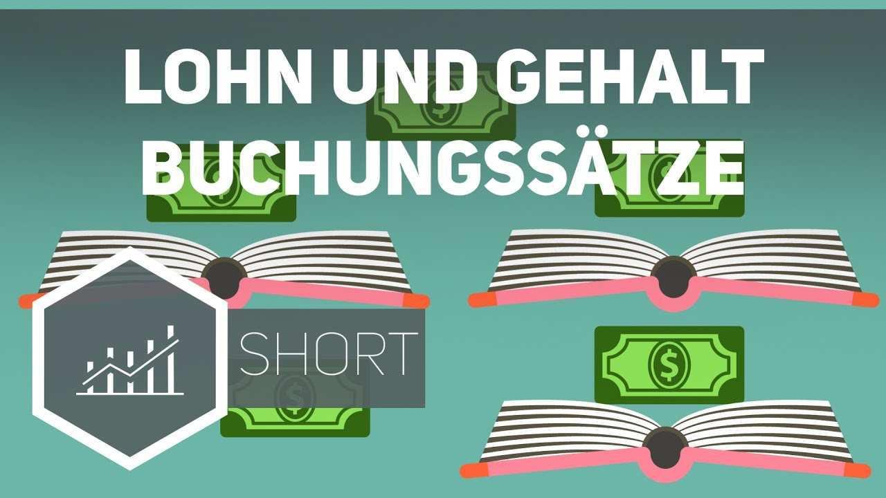 Lohn Und Gehalt Buchungssatze Gehe Auf Simpleclub De Go Werde Einserschuler Youtube