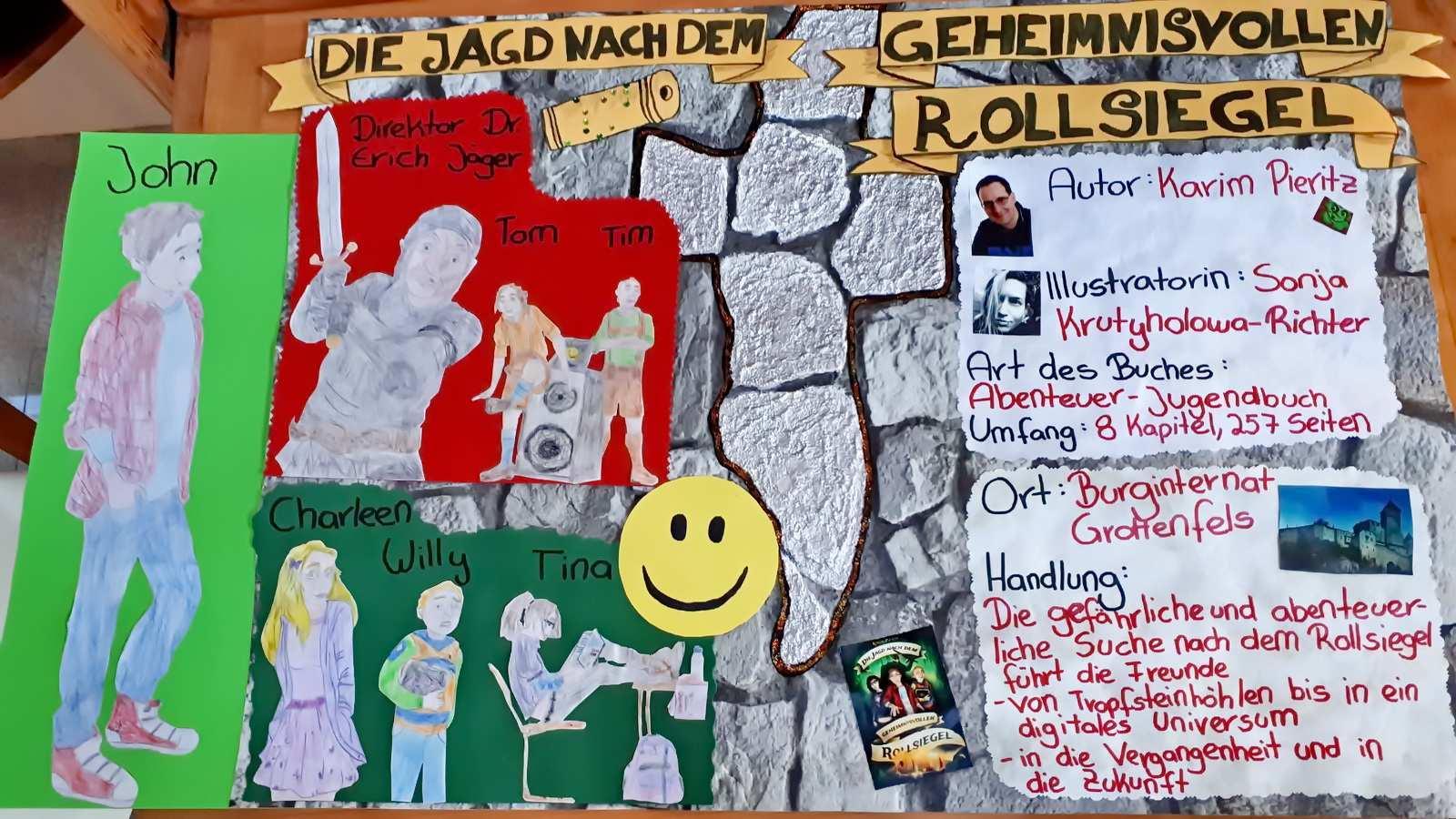 Buchvorstellung Einer Schulerin 6 Klasse Gymnasium Verlag Karim Pieritz
