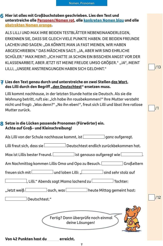Tests In Deutsch Lernzielkontrollen 3 Klasse Lernzielkontrollen Klassenarbeiten Und Proben Band 283 Amazon De Ines B Klassenarbeiten Lernen Erste Klasse