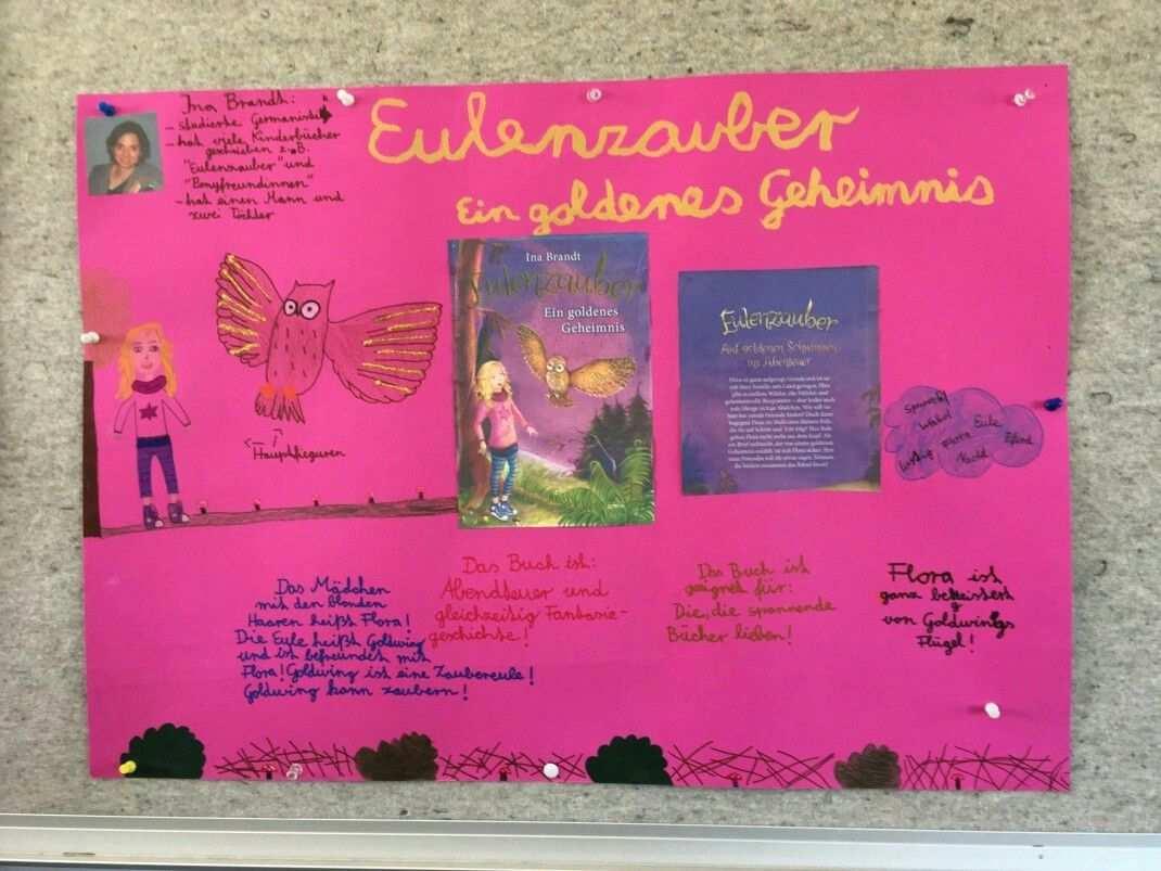 Plakat Buchvorstellung Grundschule Buchvorstellung Bucher