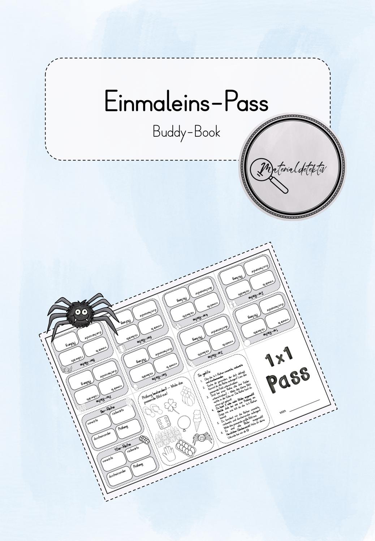 Einmaleins Pass Als Buddy Book Unterrichtsmaterial Im Fach Mathematik Einmaleins Kleines Einmaleins Unterrichtsmaterial
