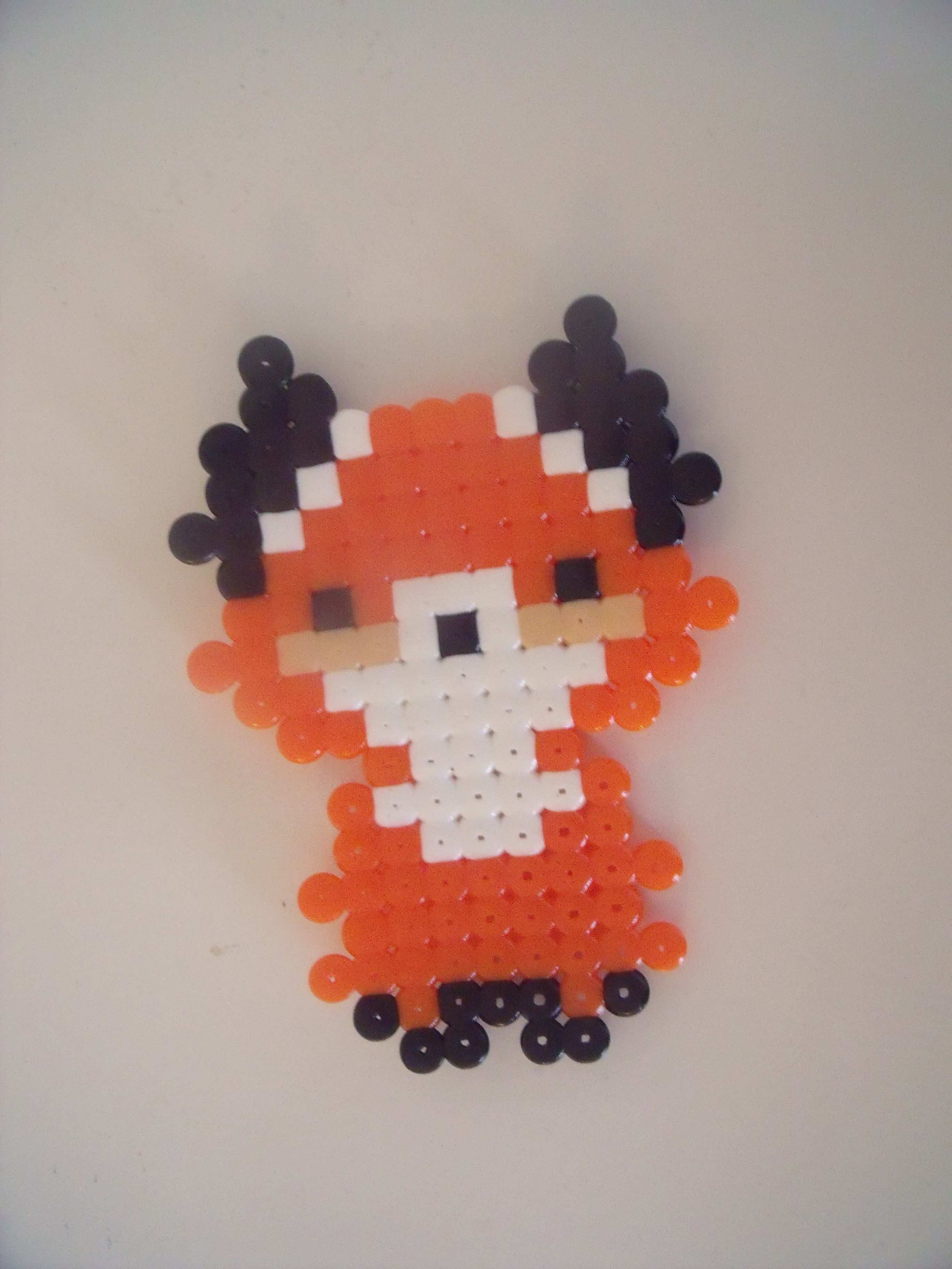 My Mom Has Made A Cute Fox Cutefox My Mom Has Made A Cute Fox Hama Bugelperlen Hama Perlen Muster Bugelperlen