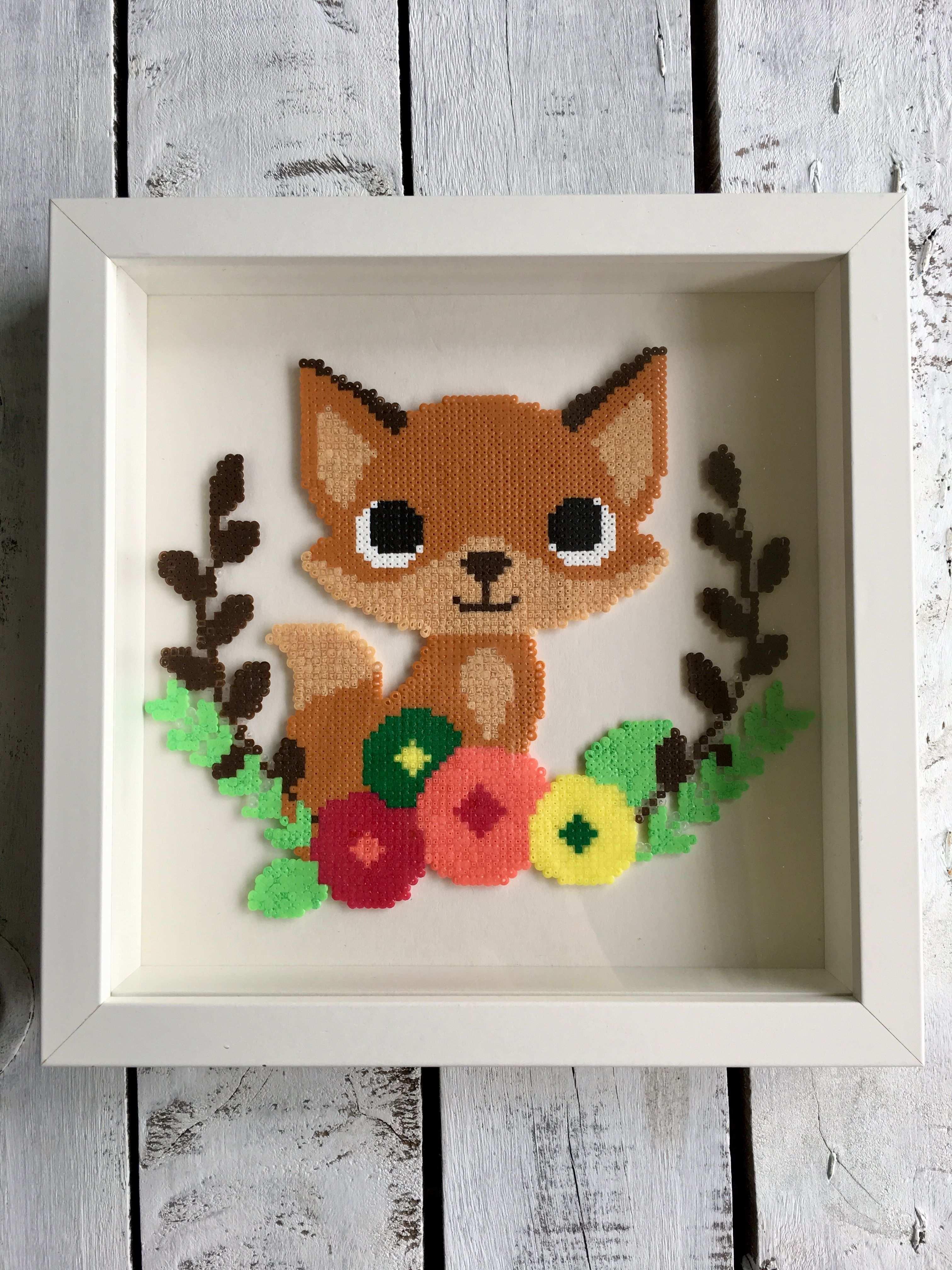 Fuchs Fox Bugelperlen Hama Beads Perler By Dassommersprossenmaedchen Basteln Bugelperlen Bugelperlen Basteln