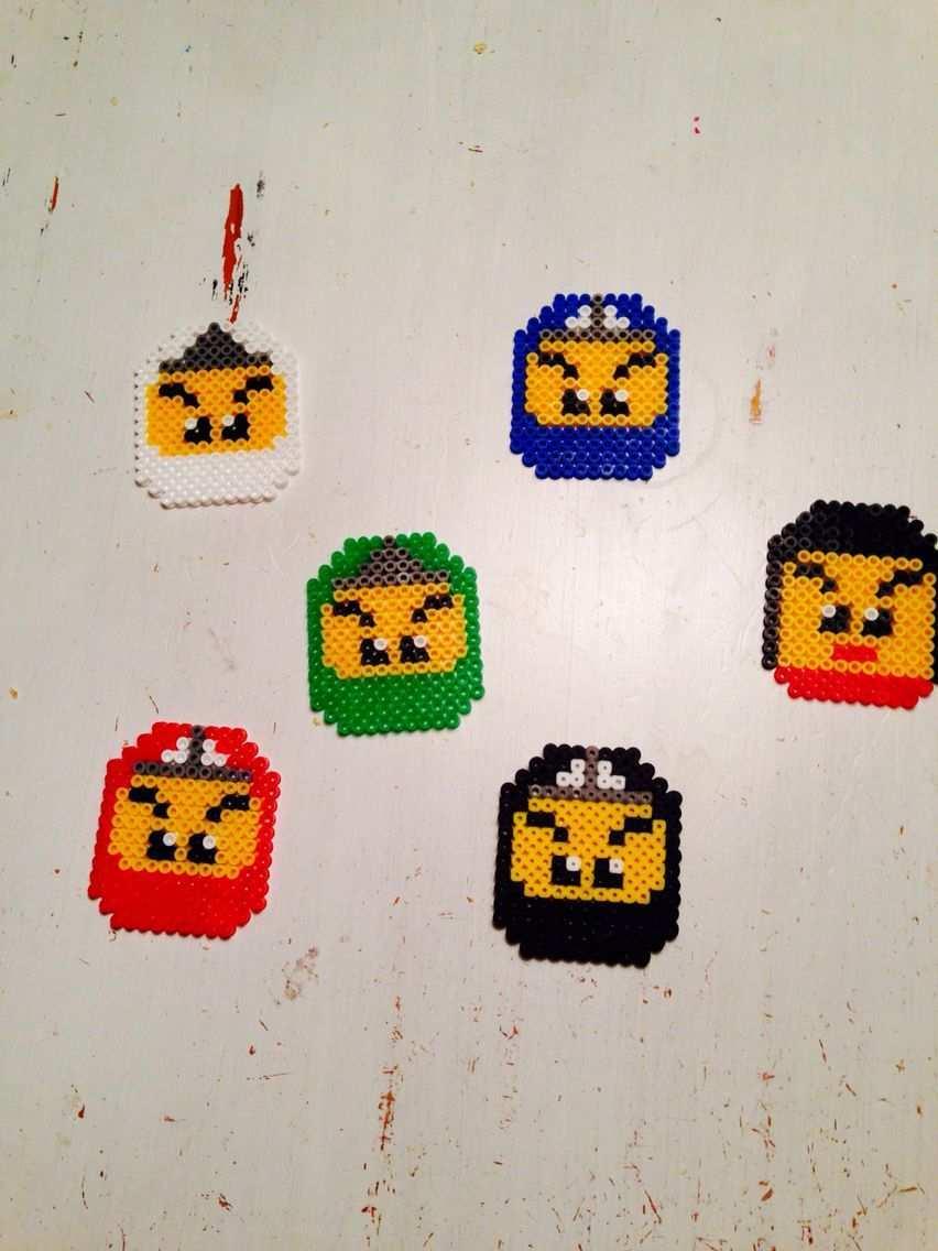 Hama Beads Ninjago Nya Bugelperlen Vorlagen Basteln Kinder Basteln Einfach