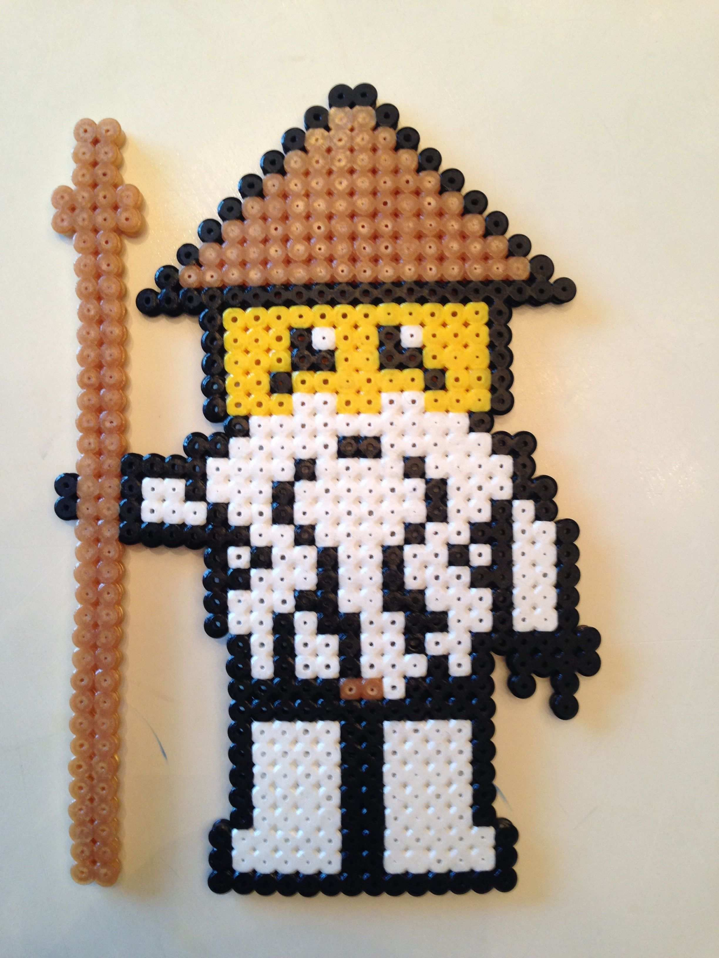 Hama Ninjago Master Wu Perlemonstre Hobbyarbejde Kreativitet