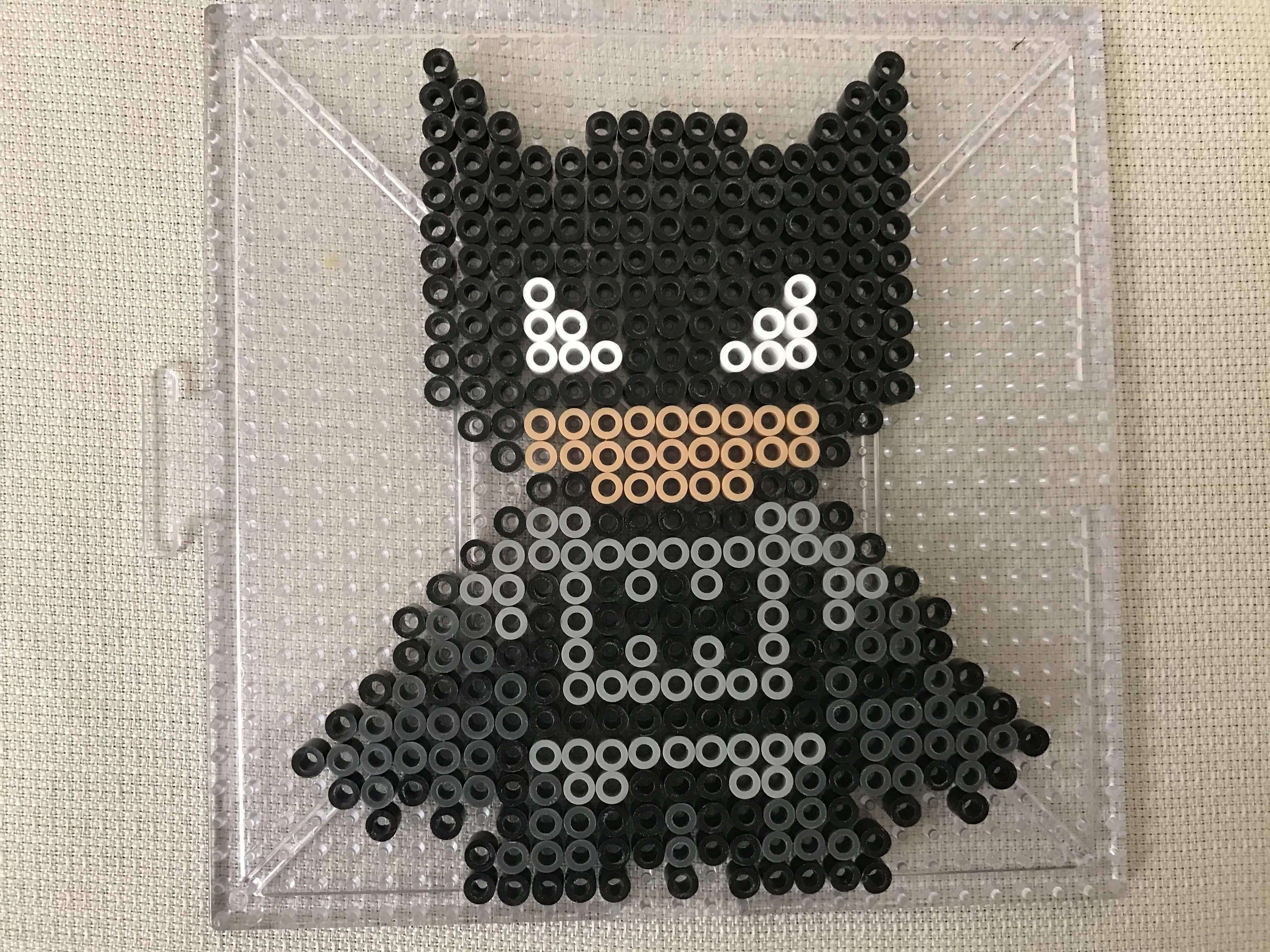 Batman Perler Bead Design Perler Beads Designs Hama Beads Design Hama Beads Patterns