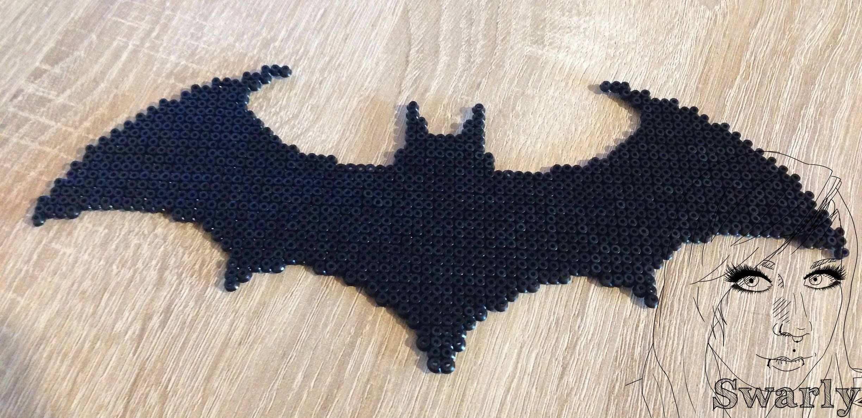 Pin Von Lisa Eddy Auf Bugelperlen Bugelperlen Batman Logo Batman