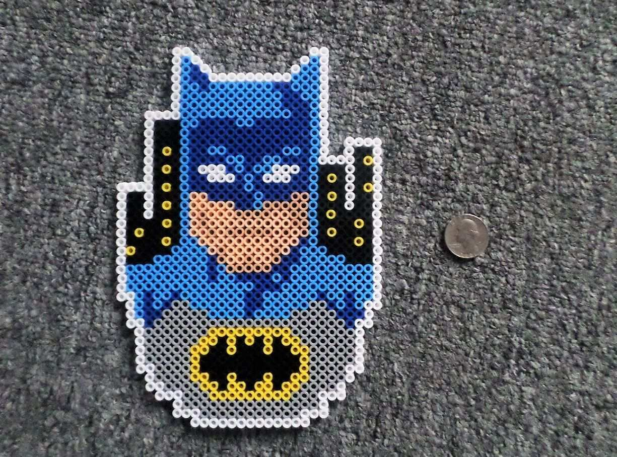 Batman Superman Perler Beads Perler Beads Hama Beads Patterns Perler Beads Designs