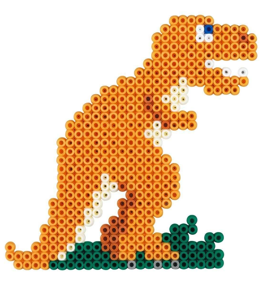 Hama 3434 Perlenset Dino Welt Ca 2000 Bugelperlen 1 Stiftplatte Und Zubehor Amazon De Spielzeug In 2020 Bugelperlen Basteln Bugelperlen Hama Bugelperlen