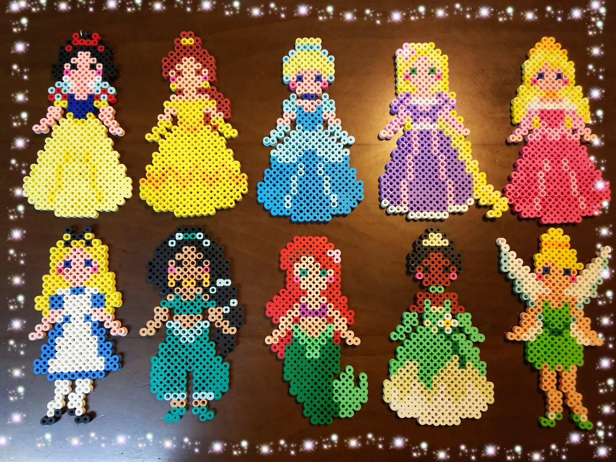 Bugelperlen Disney Prinzessinnen Dotdayartprojects Bugelperlen Disney Prinzessinnen Basteln Bugelperlen Bugelperlen Perlenmuster