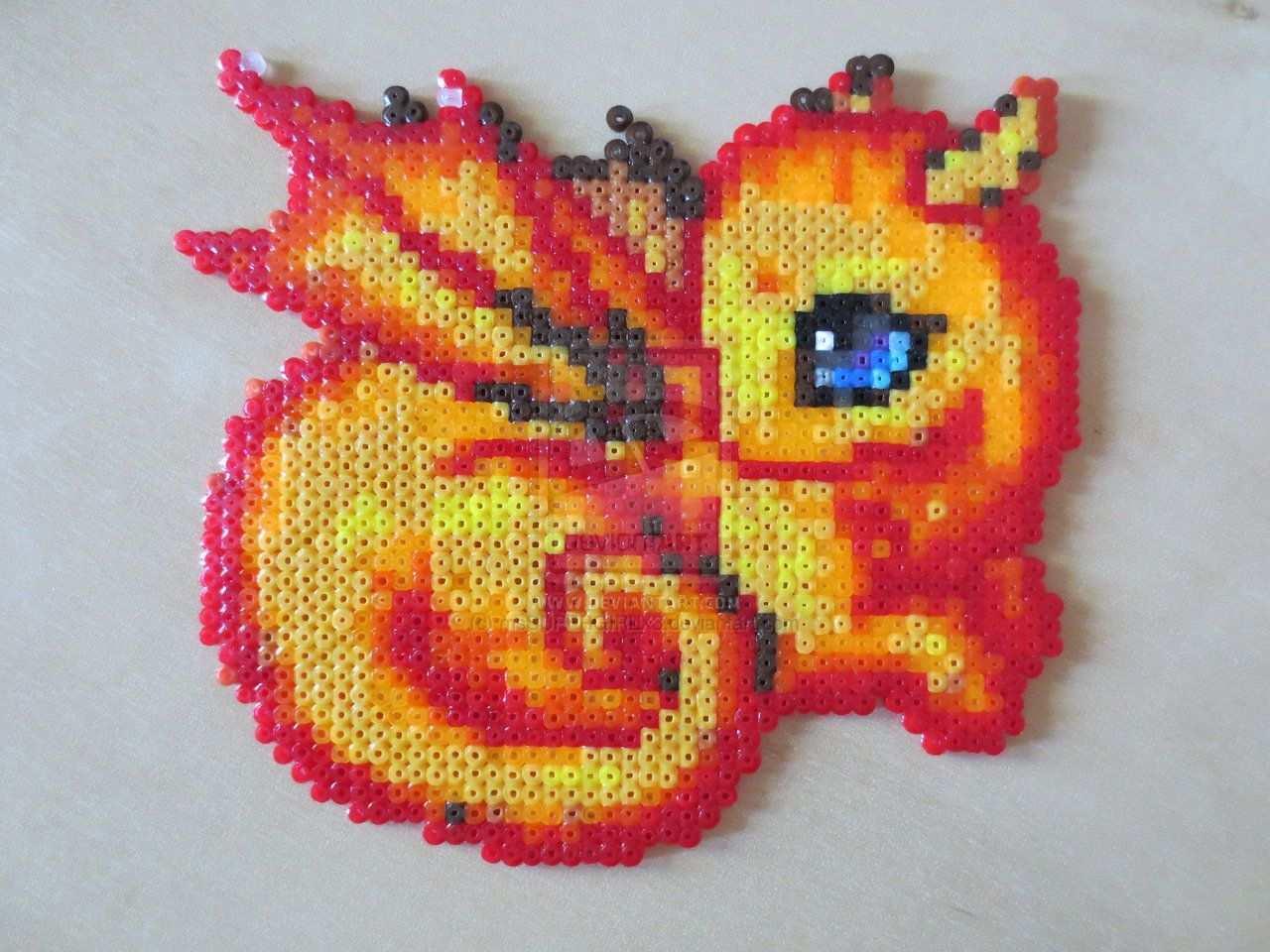 Baby Dragon By Mssupergirlx3 On Deviantart Perler Crafts Diy Perler Beads Perler Bead Templates