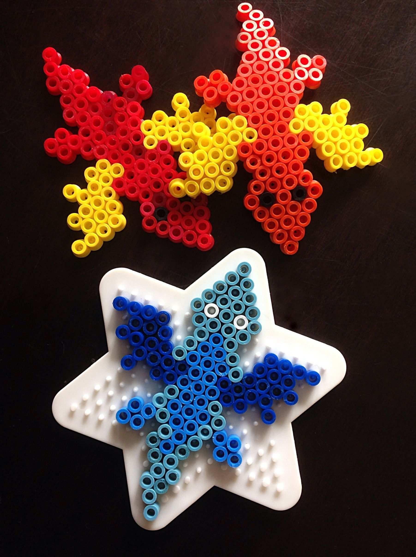 Dragon Hama Bead Pattern Cute Dragons Made From Perler Beads Perlemonstre Hobbyarbejde Diy Handvaerk