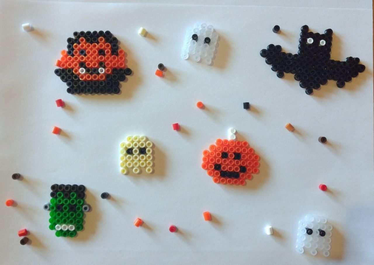 Bugelperlen Vorlage Halloween Bugelperlen Vorlagen Bugelperlen Basteln Mit Kindern