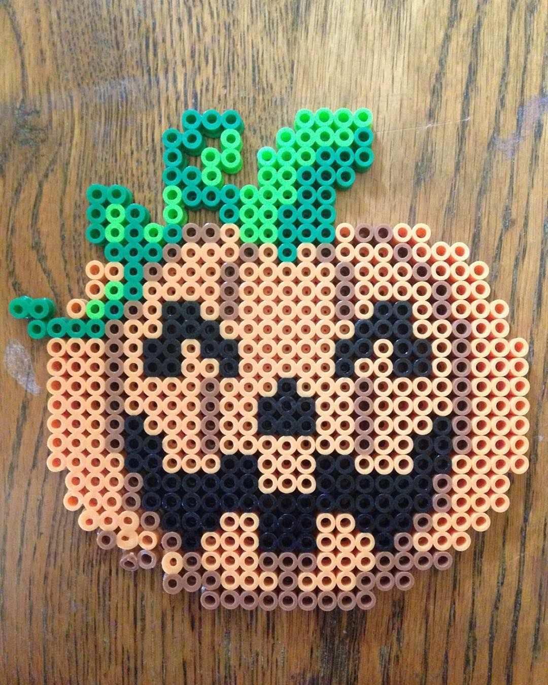 Halloween Perler Beads By Perlerbeadsarelife Hama Beads Halloween Halloween Beads Perler Bead Art