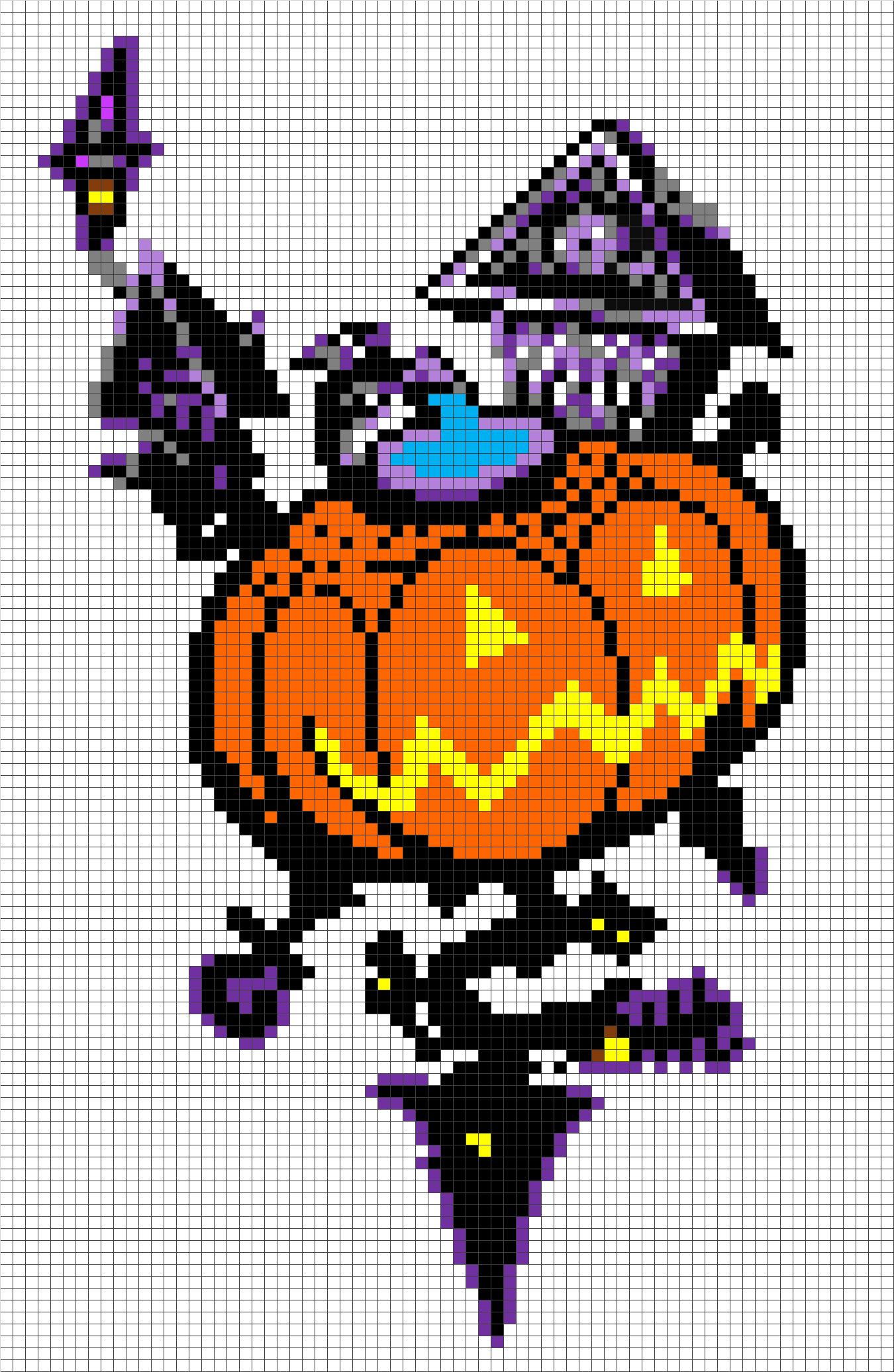 Halloween Pixel Art Minecraft Google Zoeken Bugelperlen Halloween Perlen Bugelperlen Vorlagen
