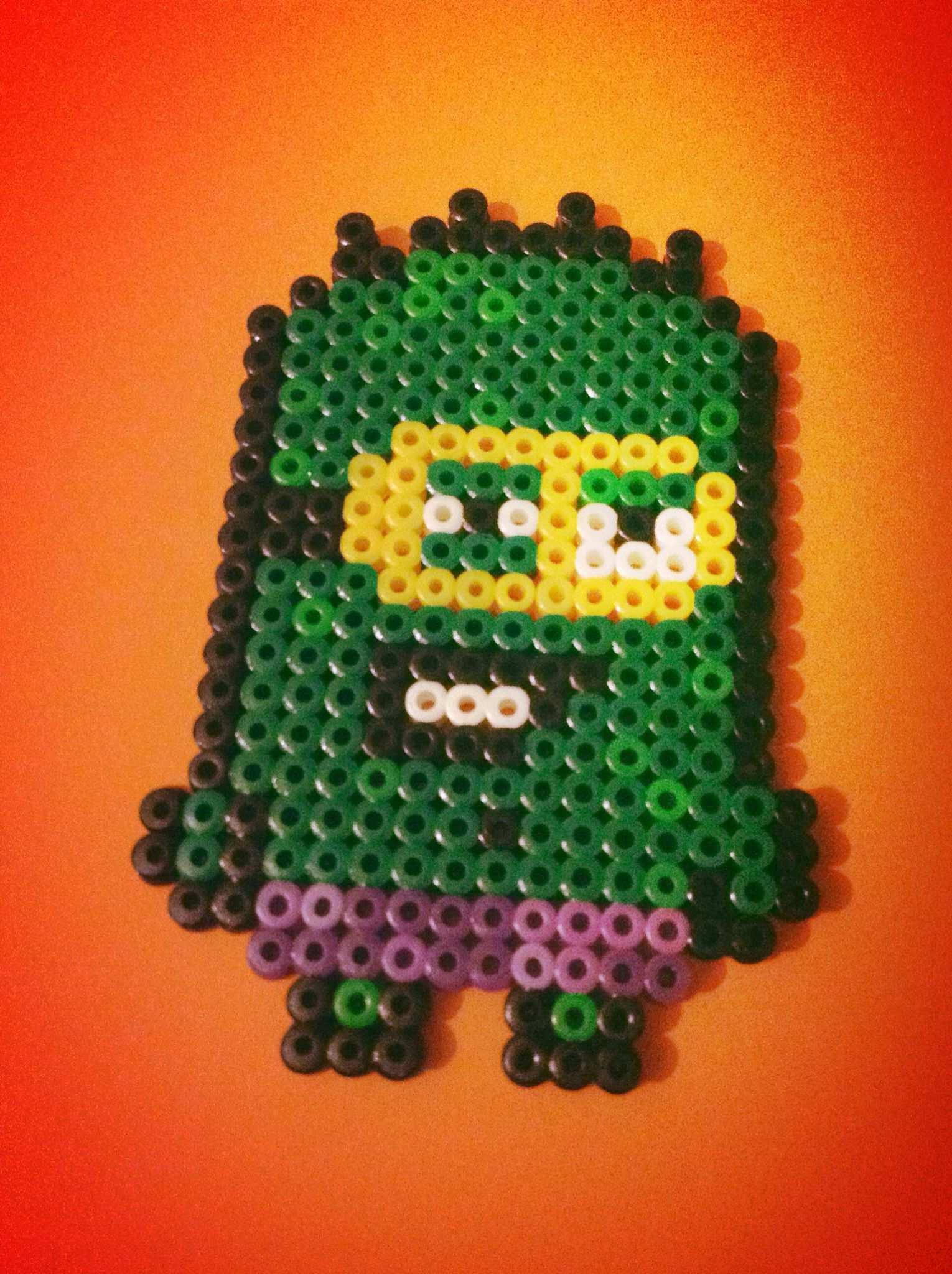 Perler Bead Hama Minion Hulk By Sten C