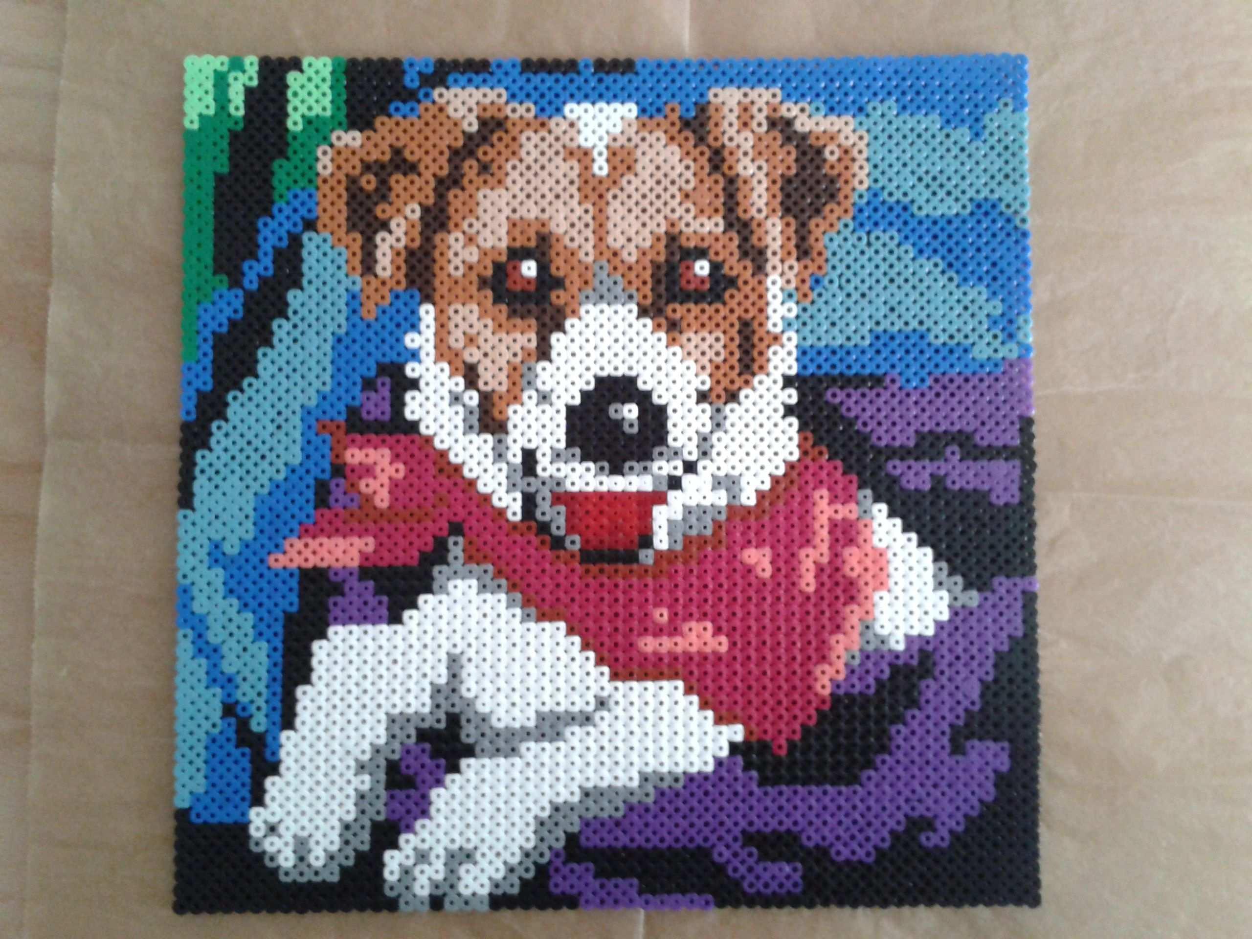 Dog Hund Bugelperlen Hama Bugelperlen Hama Perlen Muster