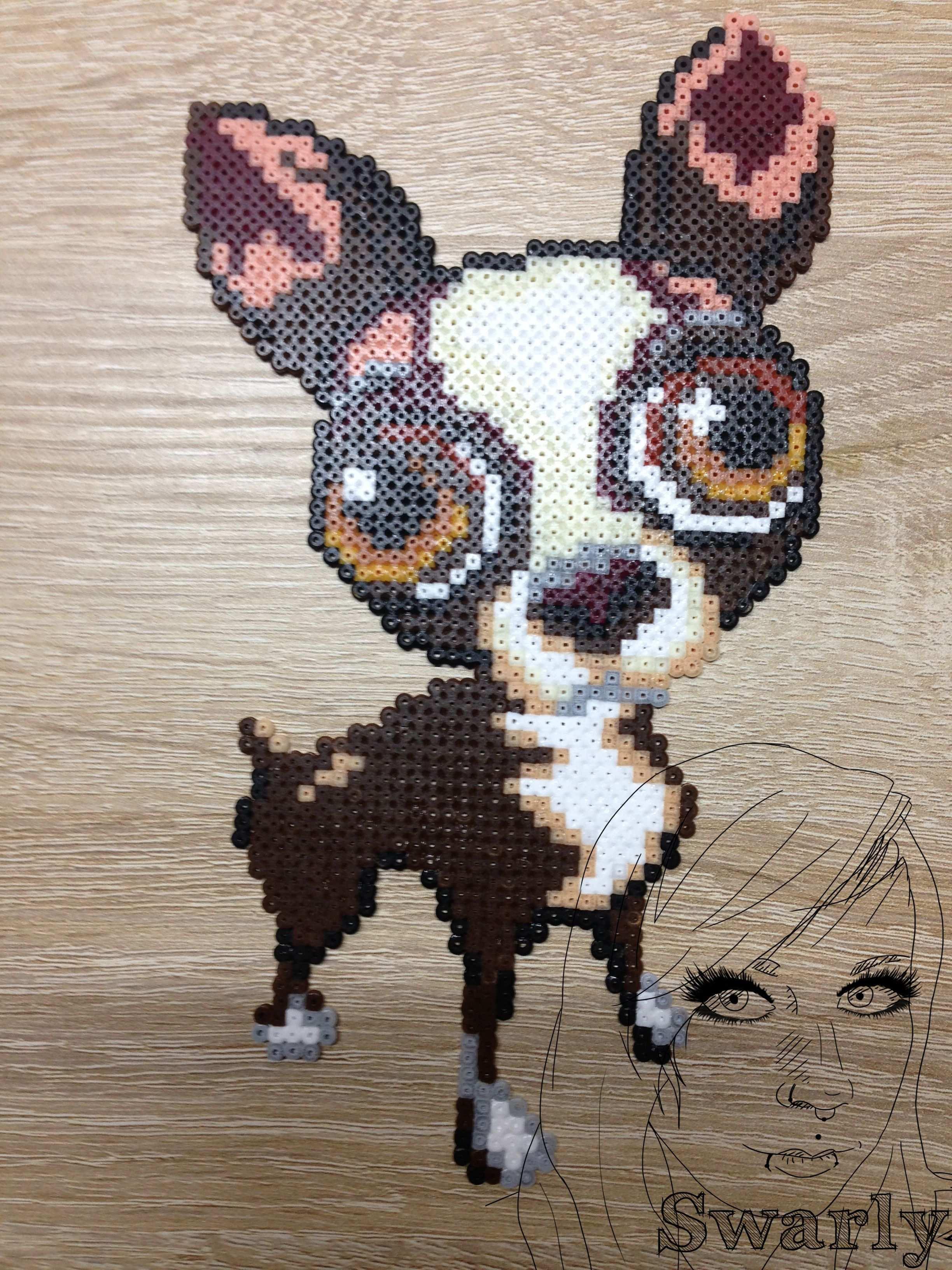 Chihuahua Perler Bugelperlen Perlenmuster Geschmolzene Perlen