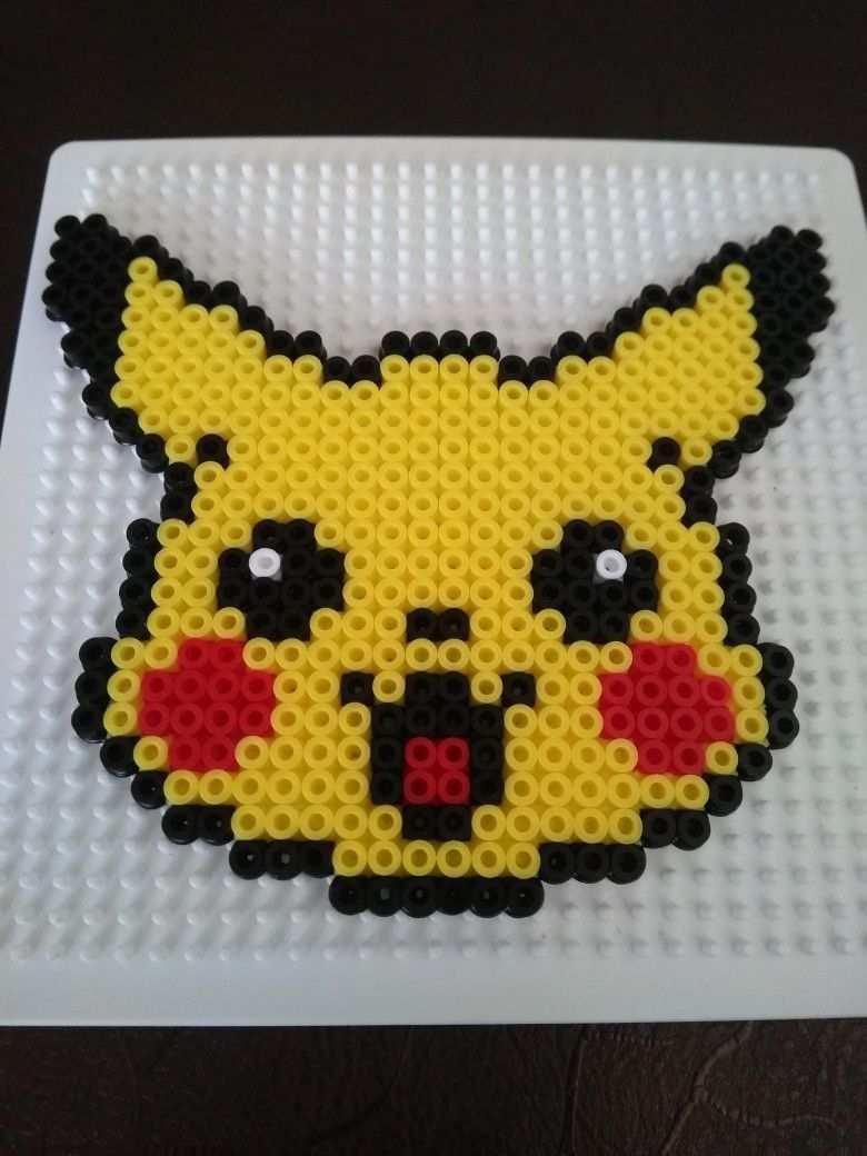Pikachu Perlerbeads Pikachu Beads Pokemon Bead Perler Bead Art