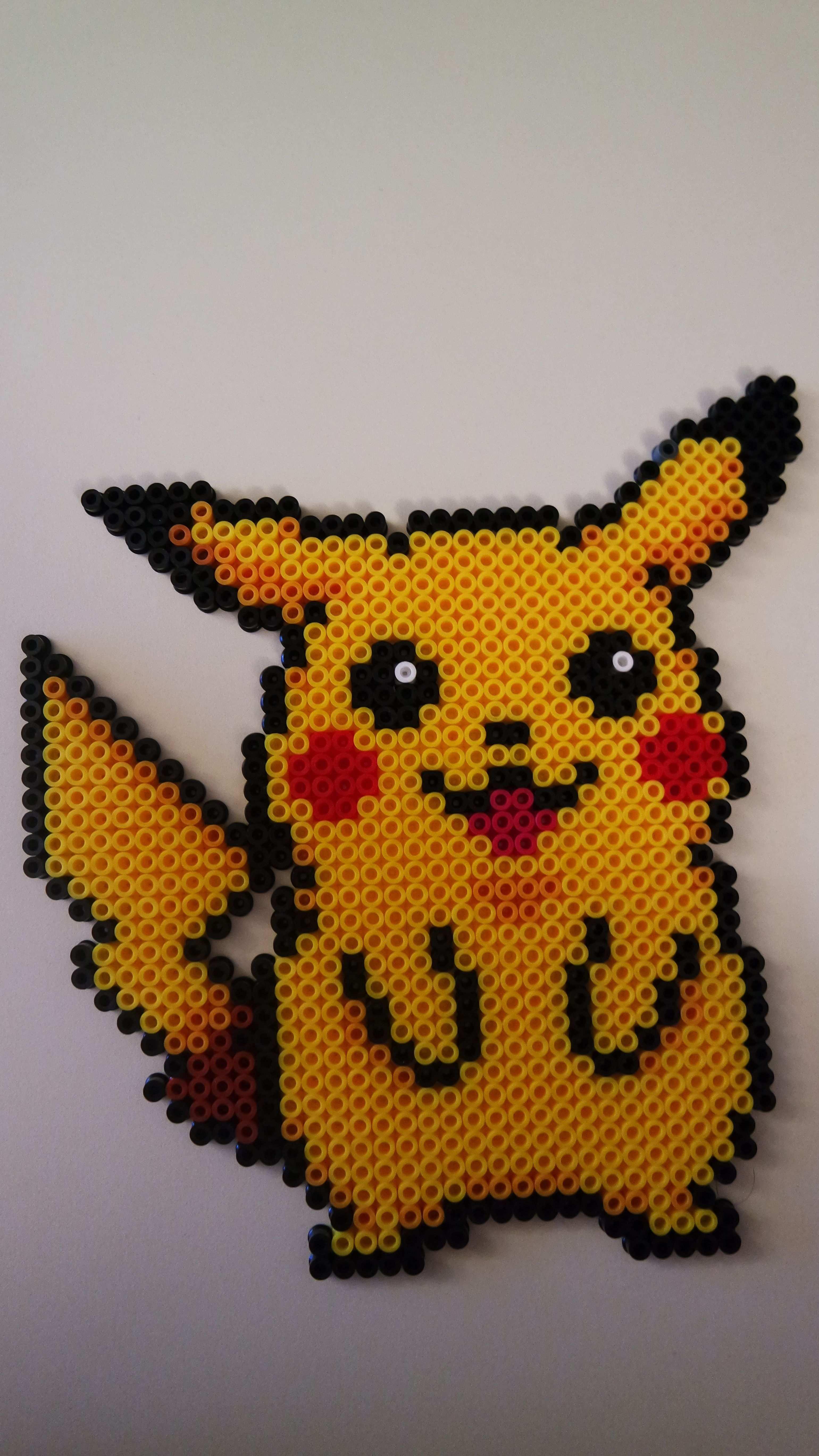 Perler Pikachu Pokemon Bugelperlen Bugelperlen Pokemon Pokemon