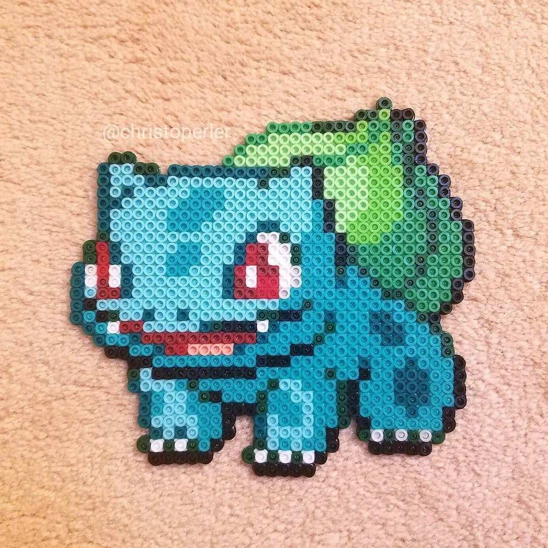 Bulbasaur Pokemon Perler Beads By Christoperler Pokemon Perler Beads Pokemon Bead Perler Bead Pokemon Patterns