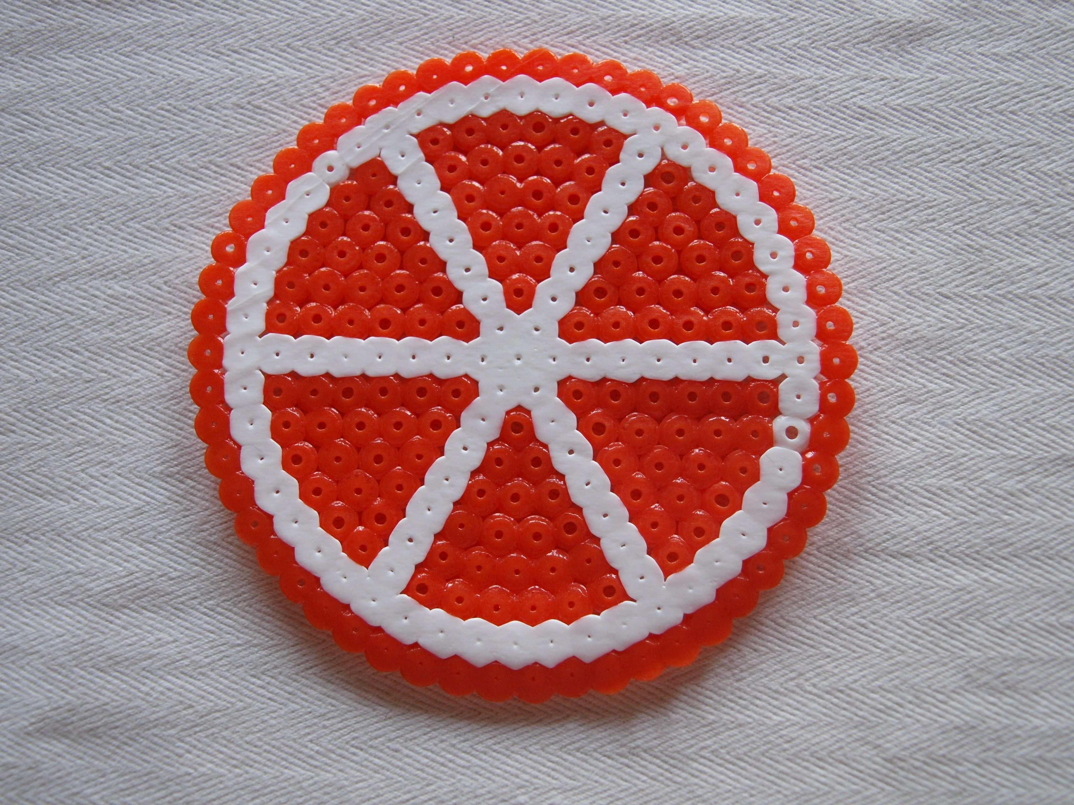 Orange Aus Bugelperlen Bugelperlen Bugelperlen Vorlagen Bugelperlen Bilder