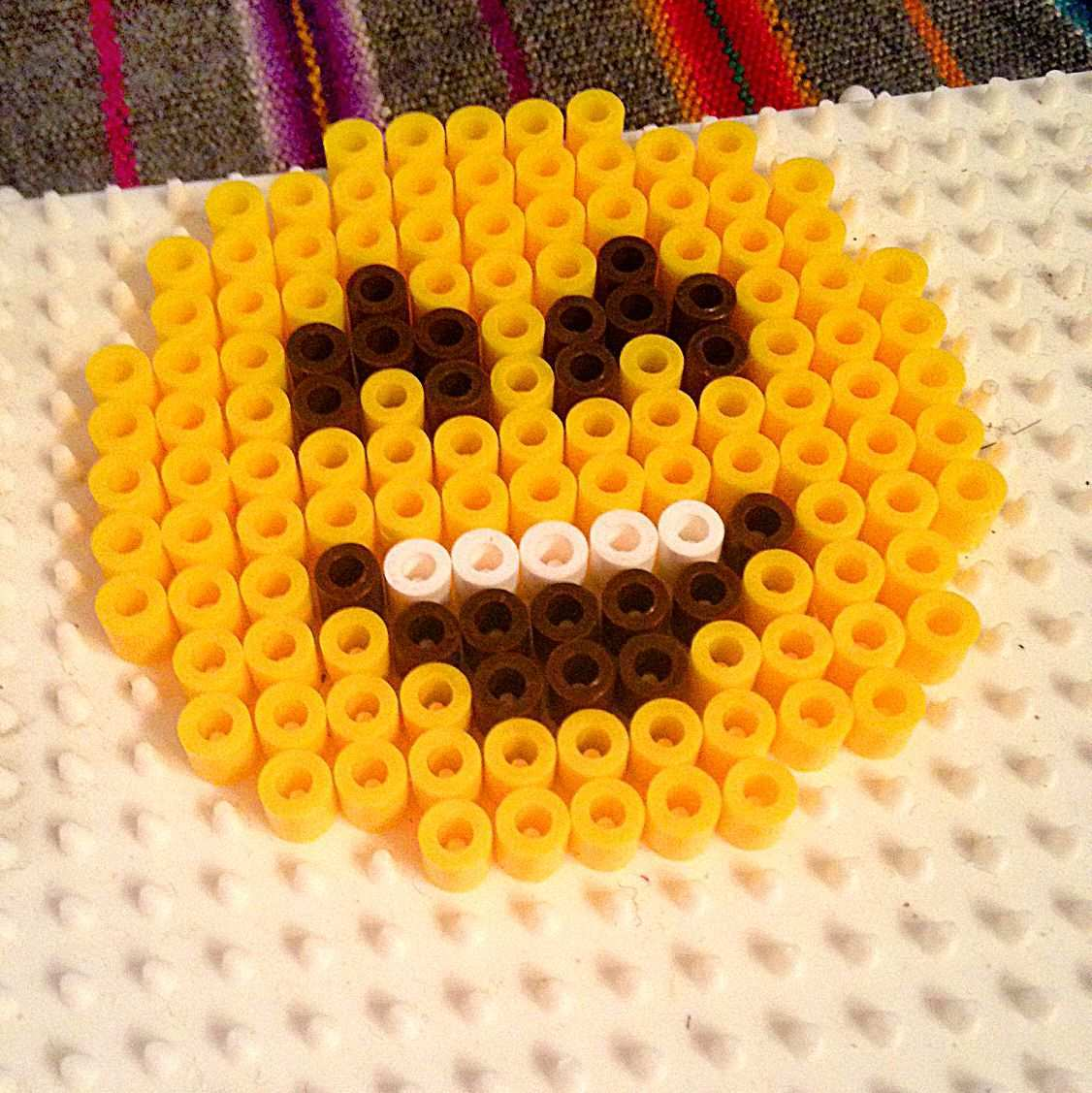 Hama Bugelperlen Spielwaren Kroll Emoji Perler Bead Designs Hama Bugelperlen Hama Perlen Muster
