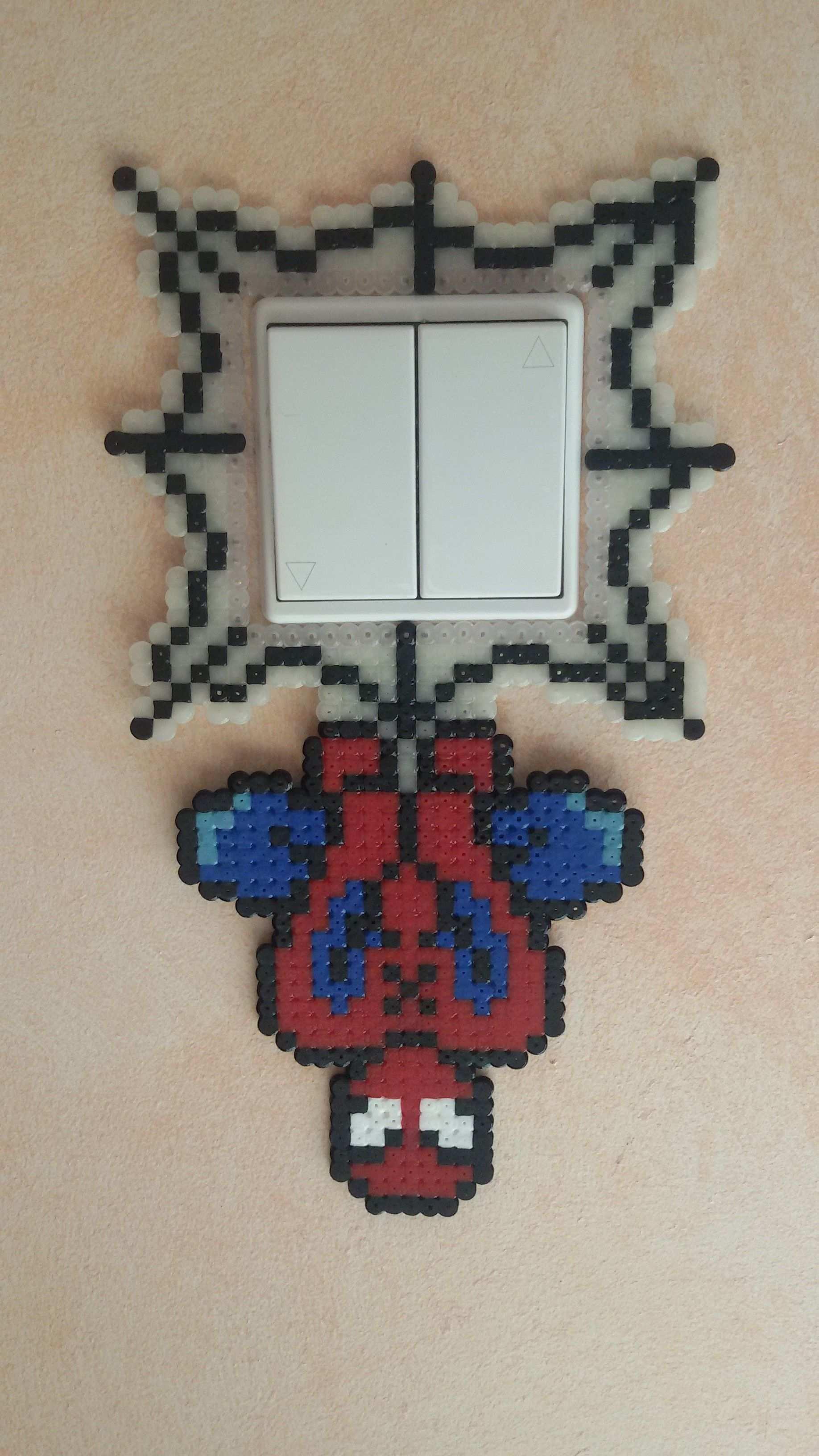 Beads Perler Spiderman Switch By Groslip1255 On Deviantart Perler Bead Art Diy Perler Beads Hama Beads Patterns