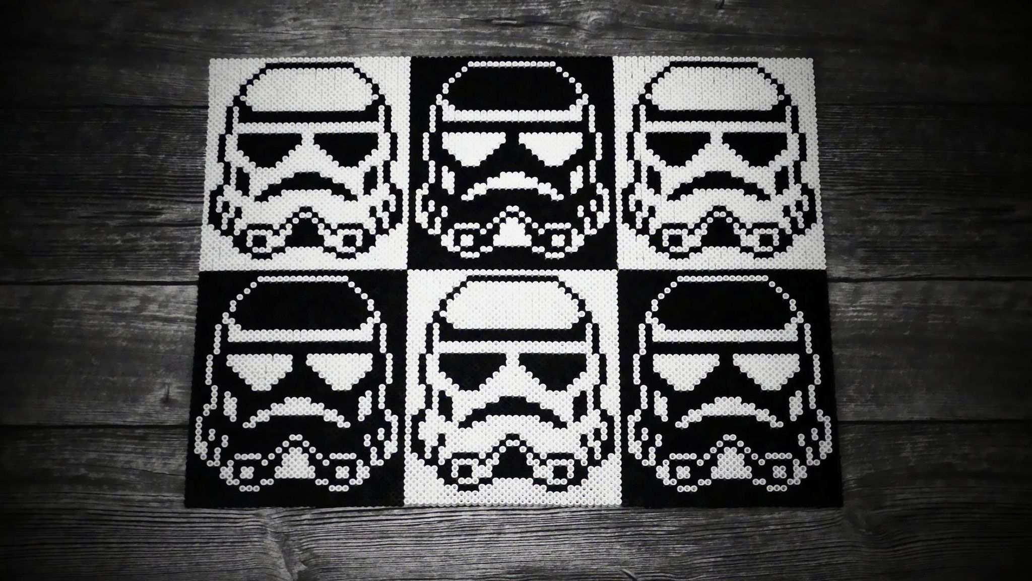 Bugelperlen Stormtrooper Star Wars Bugelperlen Basteln Bugelperlen Hama Bugelperlen