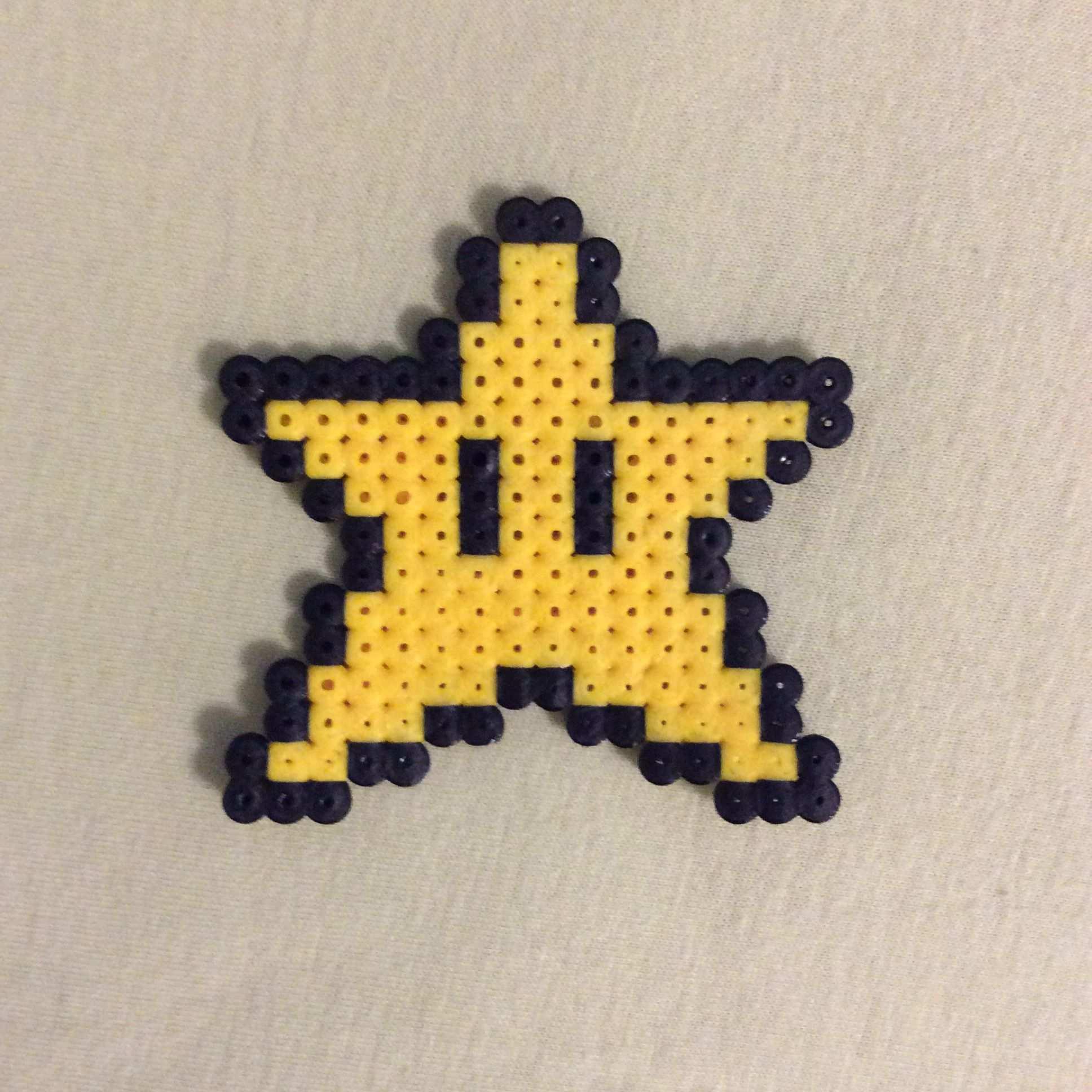 Stern Aus Bugelperlen Bugelperlen Bugel Sterne