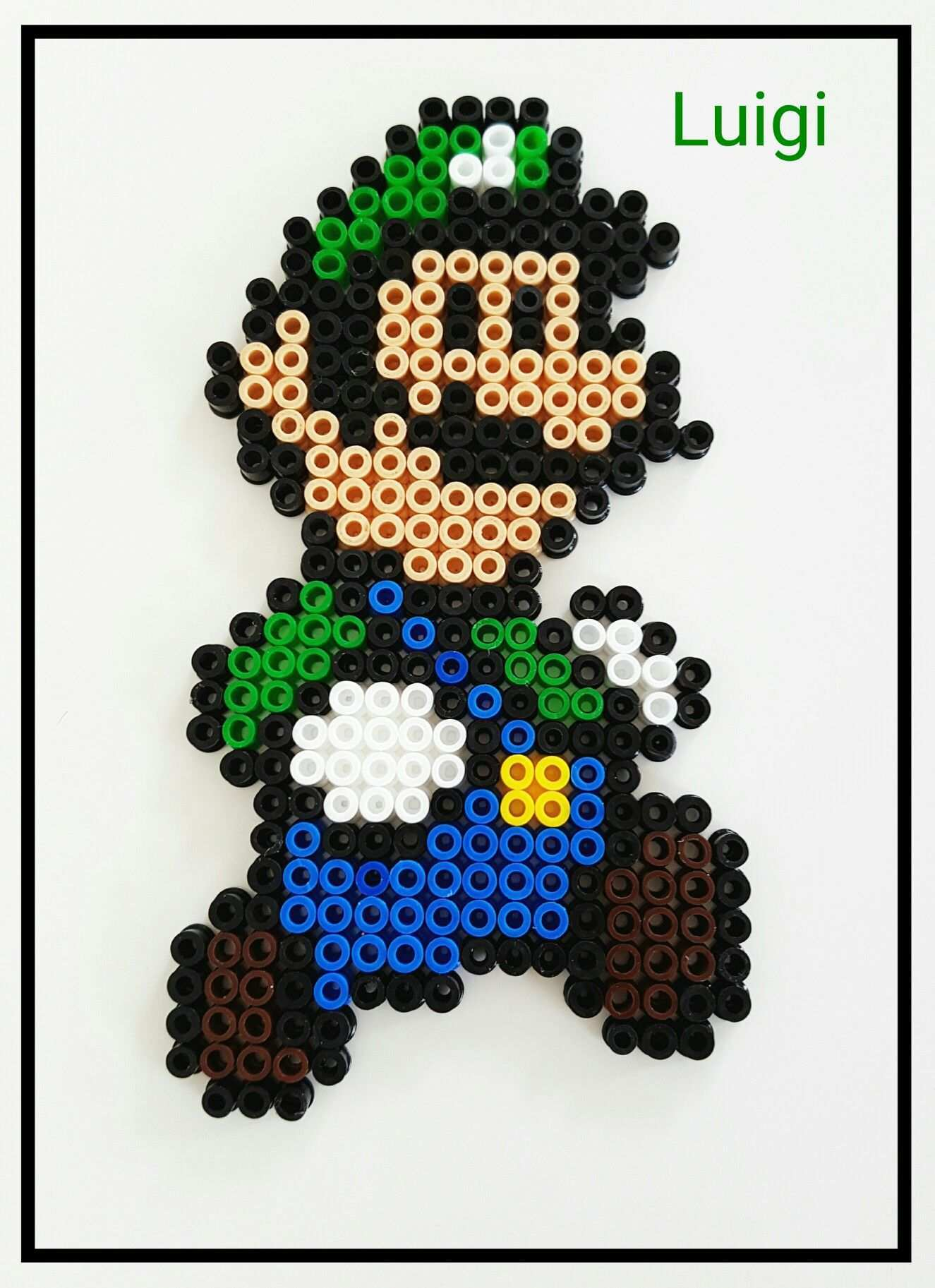 Luigi Luigi Supermario Bugelperlen Bugelperlen Bugel Luigi