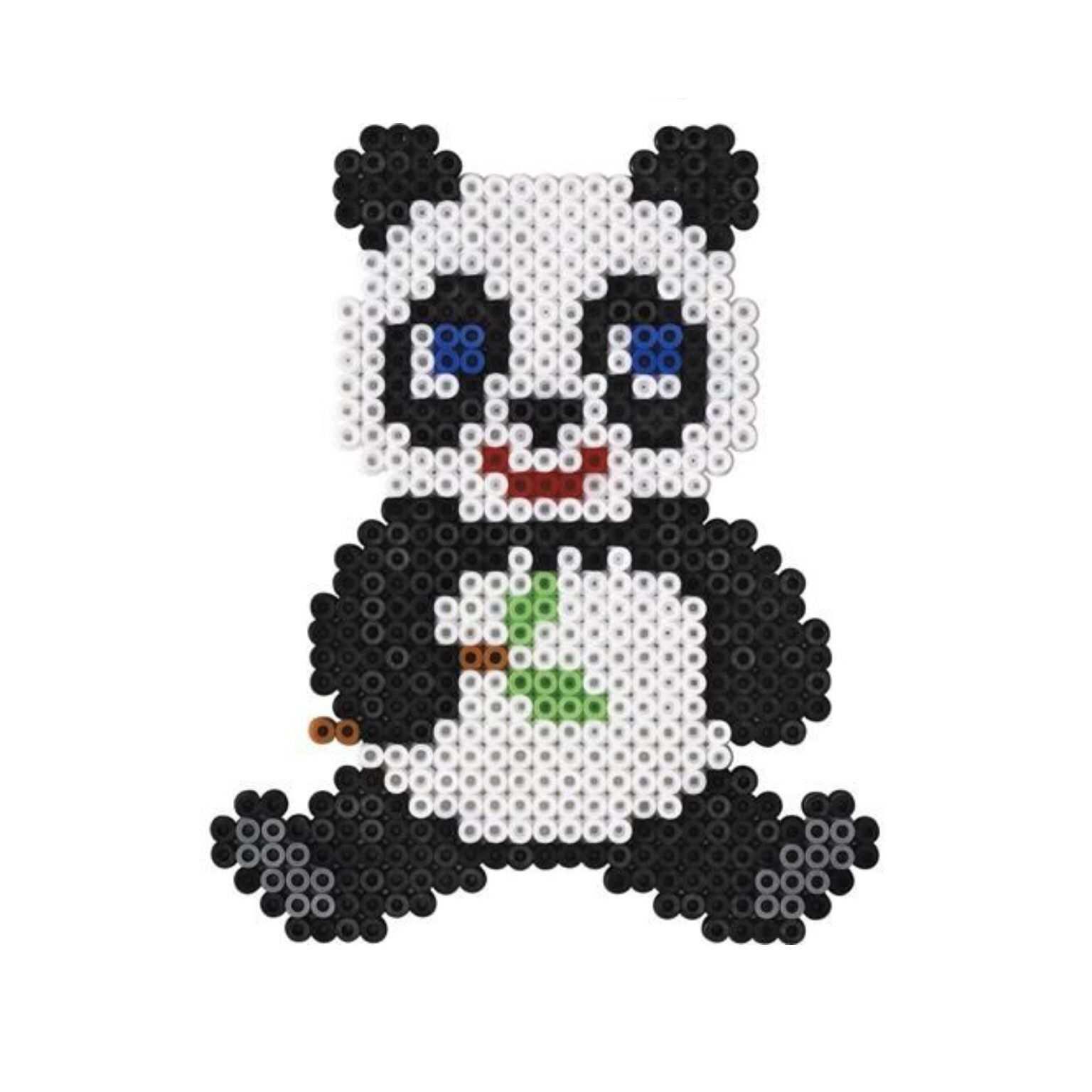 Panda Bugelperlen Bild Leicht Zu Machen Its Easy Subscribe Me On Youtube Emibeautx Bugelperlen Bugelperlen Vorlagen Bugelperlen Bilder