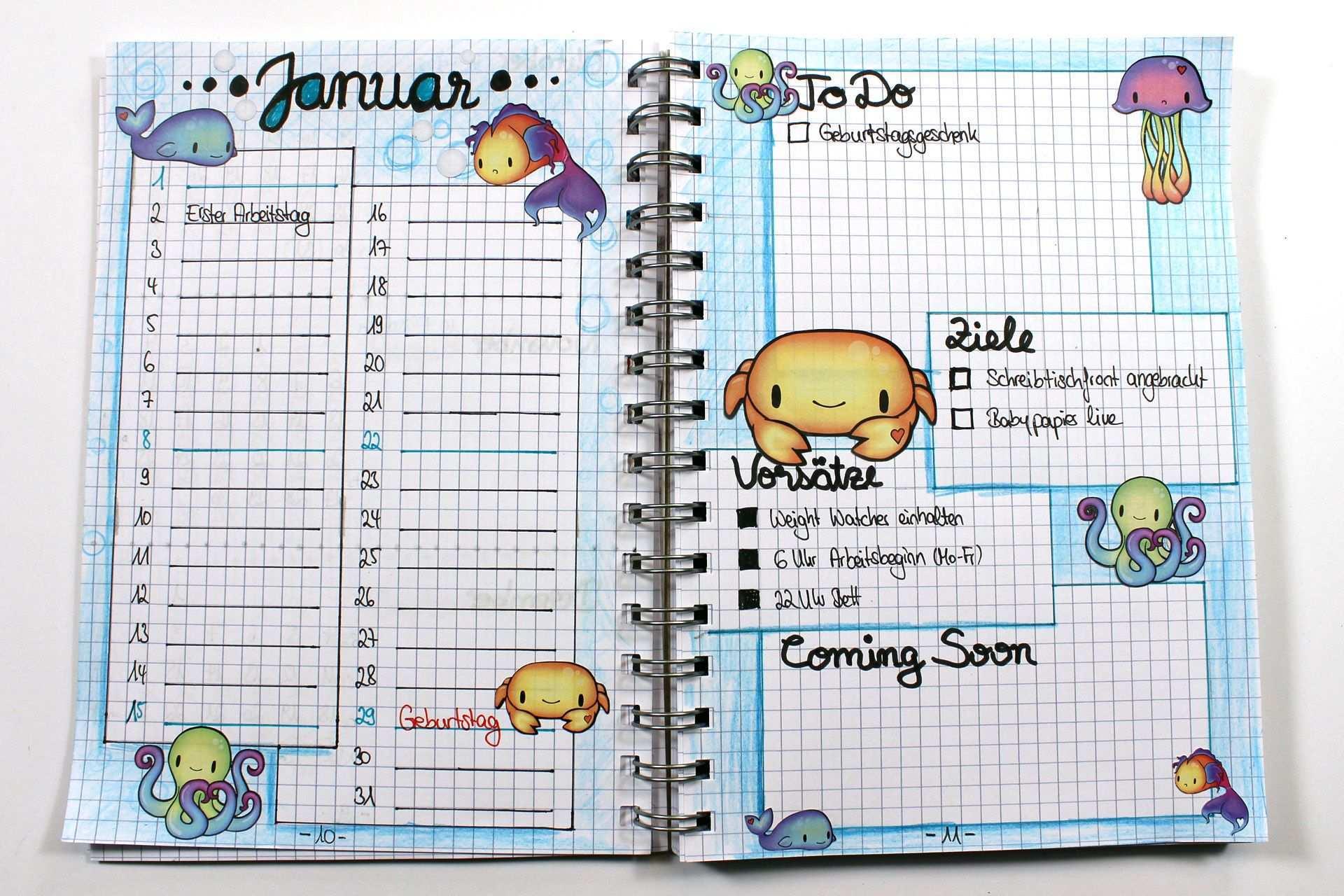 Bullet Journaling Fur Anfanger Einfuhrung Und Setup 2017 Kreativbunt Bullet Journaling Journaling Ideen Kreativ Tagebuch