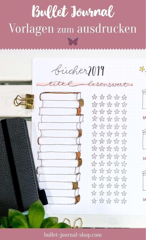 Bullet Journal Vorlagen Zum Ausdrucken Du Suchst Ein Vorlagen Set Mit Dem Dein B New I In 2020 Bullet Journal Books Bullet Journal Layout Templates Bullet Journal