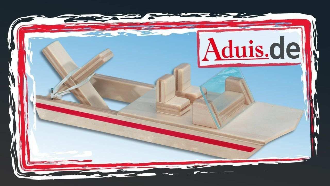 Boot Wasserfloh Mit Gummimotor Bausatz Zum Einfachen Nachbauen Youtube Sportboot Boot Basteln Kinder Spielzeug