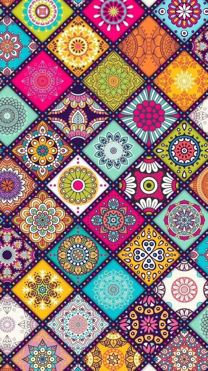 Background Mustertapete Musterkunst Tapetenmuster