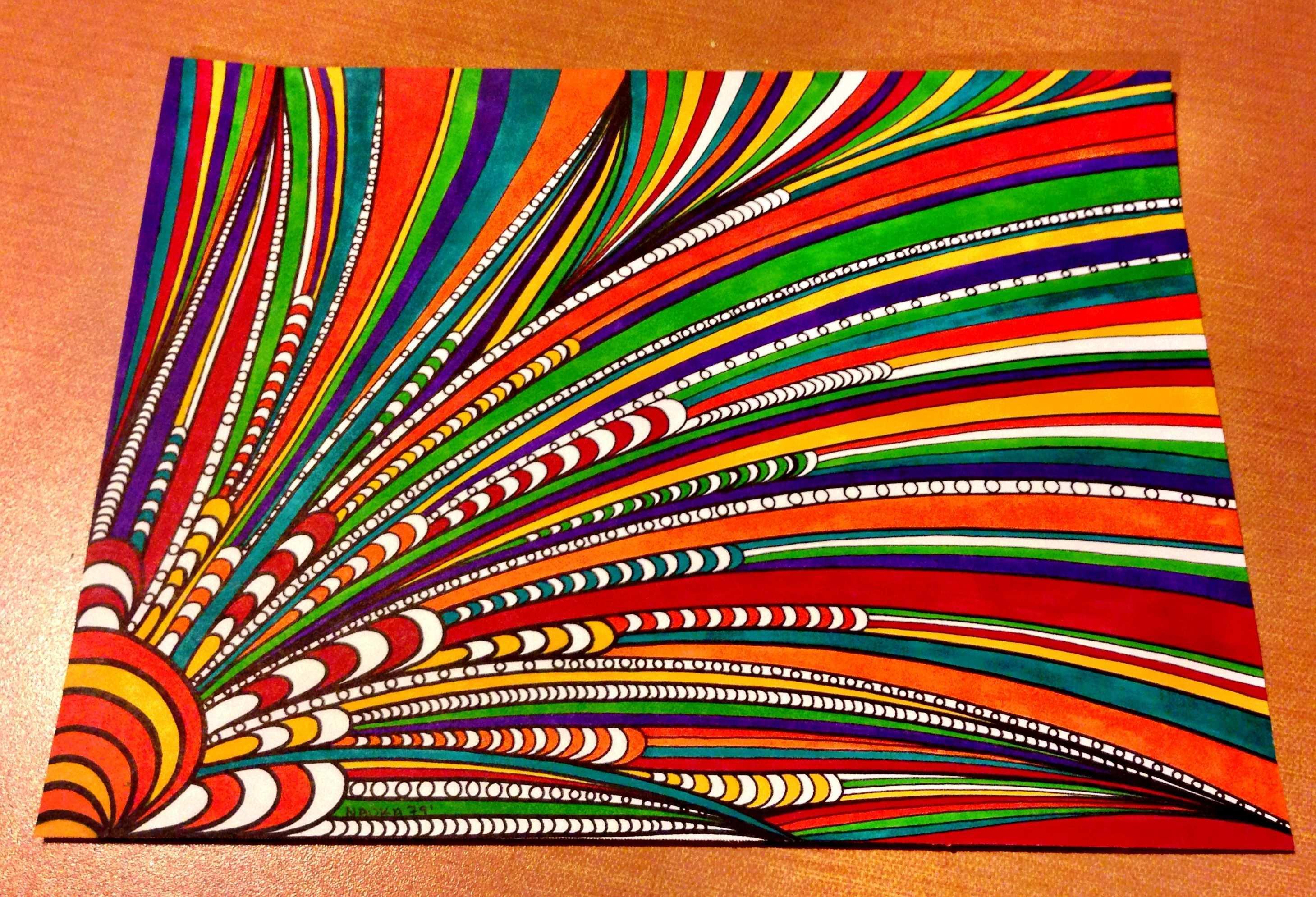 Sharpieart Zentangle Doodle Zentangle Muster Malen Und Zeichnen Kreativ