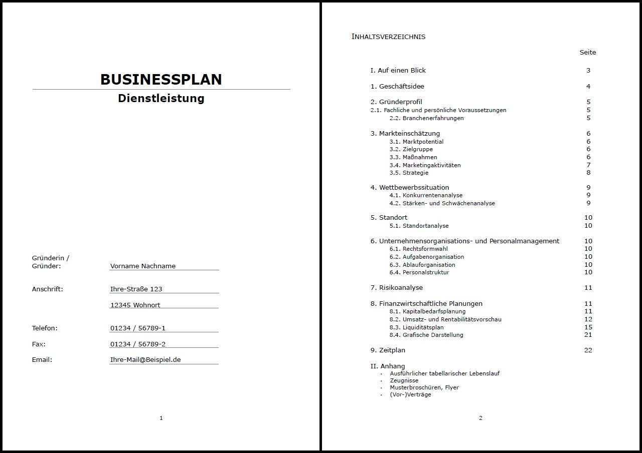 Businessplan Vorlage Existenzgrundung Doner Imbiss Inkl Beispiel Ebay