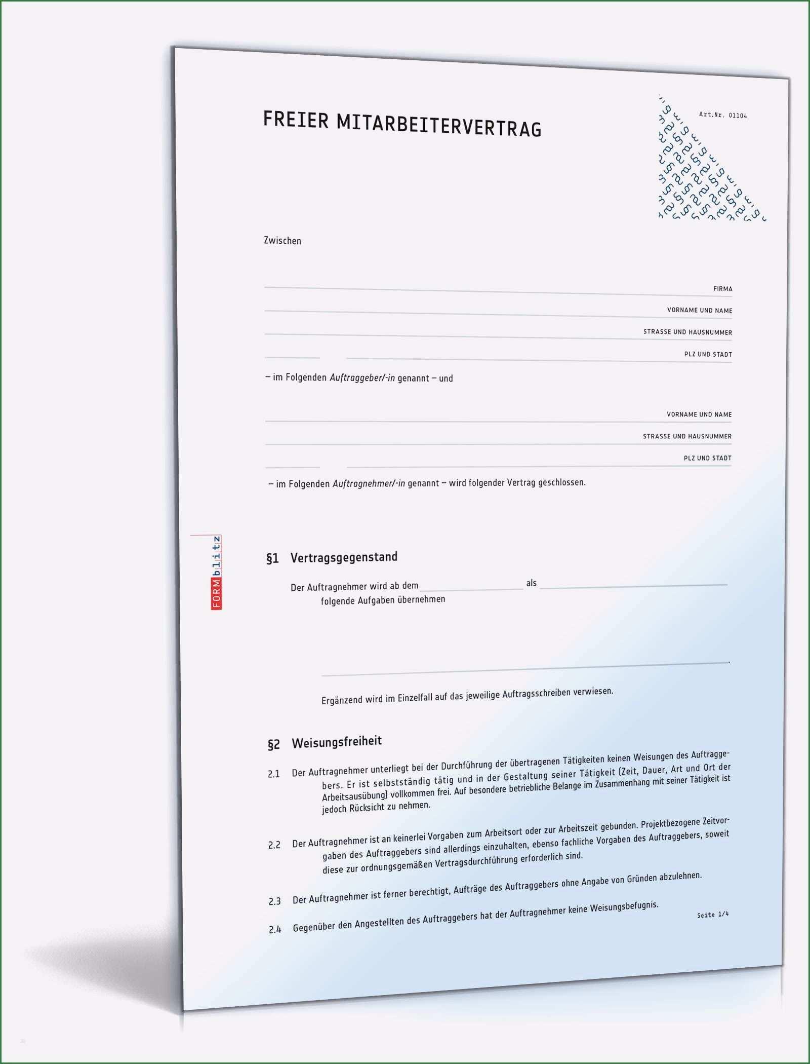 30 Erstaunlich Arbeitsvertrag Freiberufler Vorlage Bilder In 2020 Vorlagen Word Businessplan Vorlage Briefkopf Vorlage