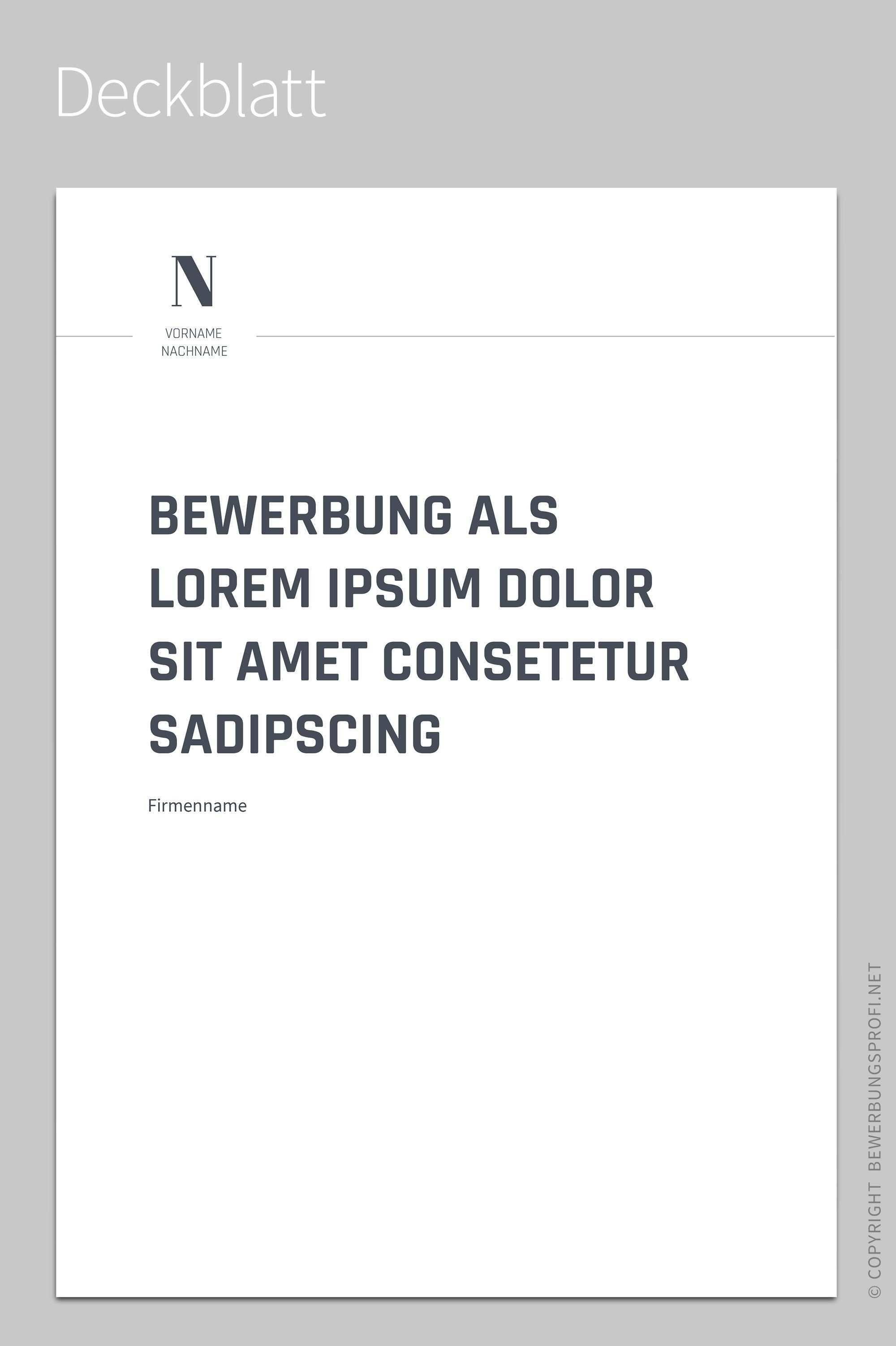 Deckblatt Novus Businessplan Vorlage Vorlagen Bewerbung