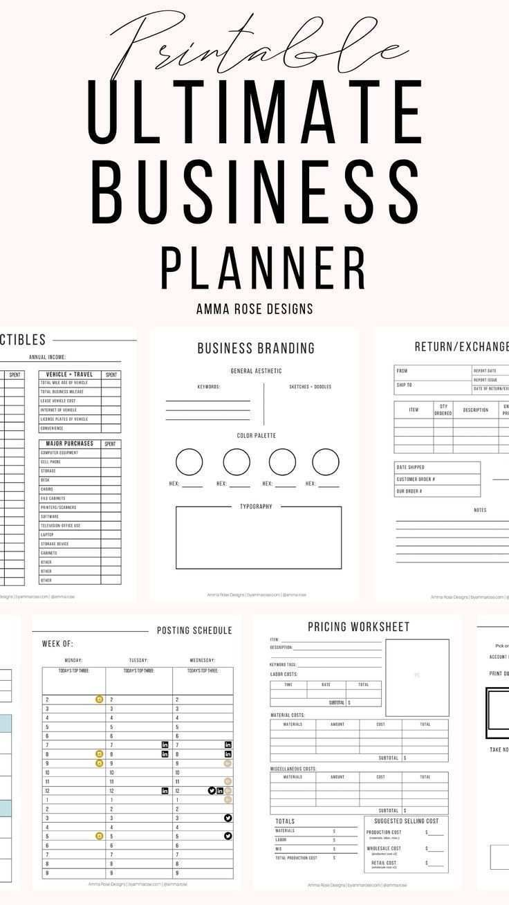 Business Planner Printable Business Planner Pdf Business Planning Business Planner Business Bundle 2020 Business Small Business Business Planner Small Business Organization Business Organization