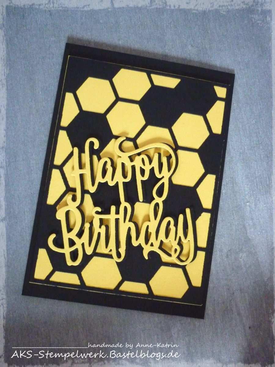 Bvb Geburtstagskarte Geburtstagskarte Bvb Geschenk Gratulation Geburtstag